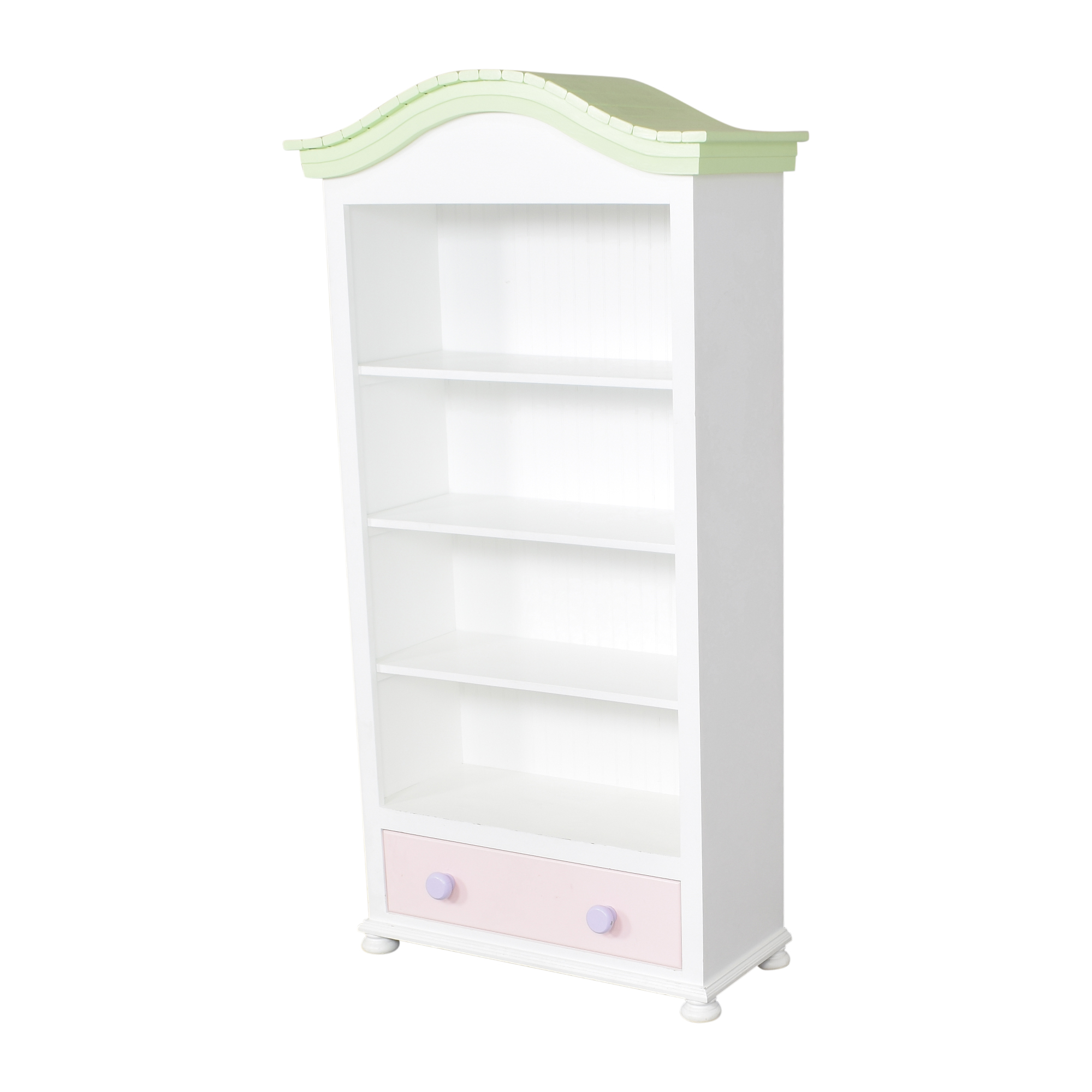 Tall Painted Bookcase / Bookcases & Shelving