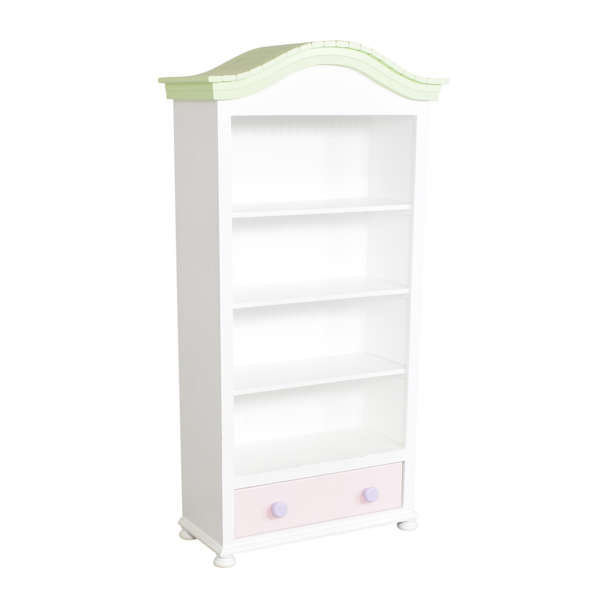 buy Tall Painted Bookcase  Bookcases & Shelving