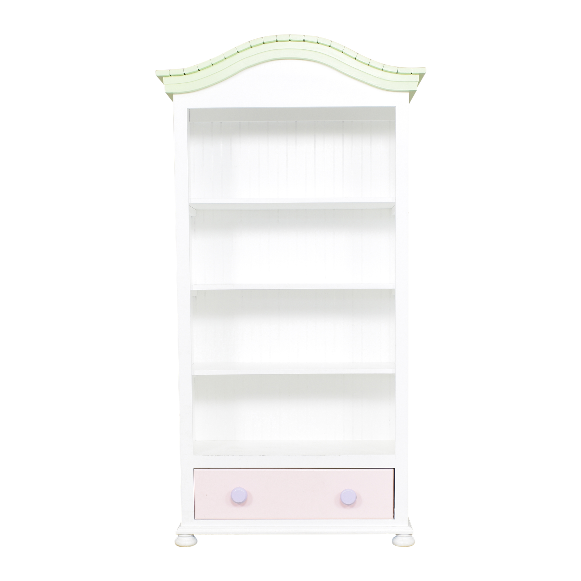 Tall Painted Bookcase Bookcases & Shelving