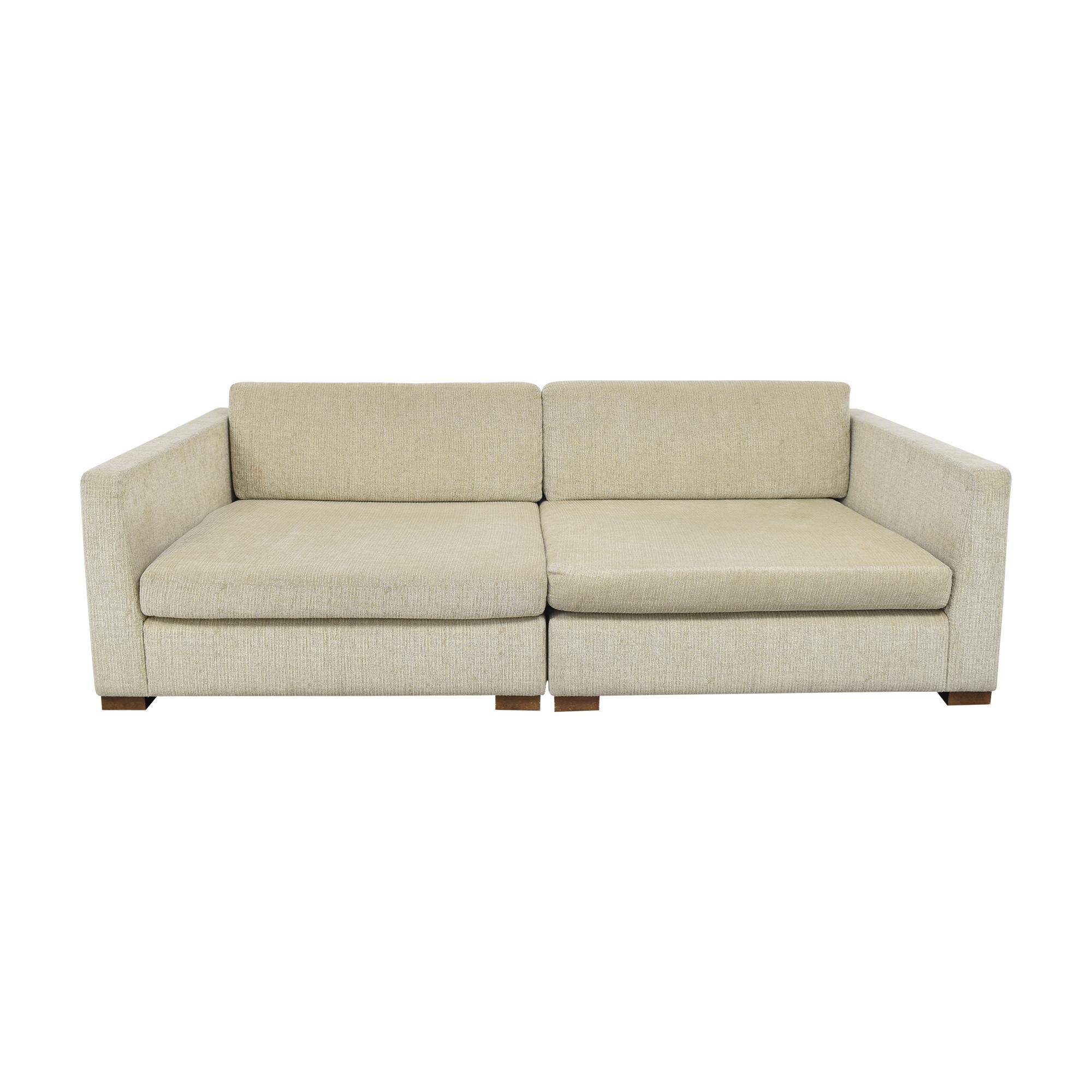 Artefacto Artefacto Modern Two Piece Modular Sofa price