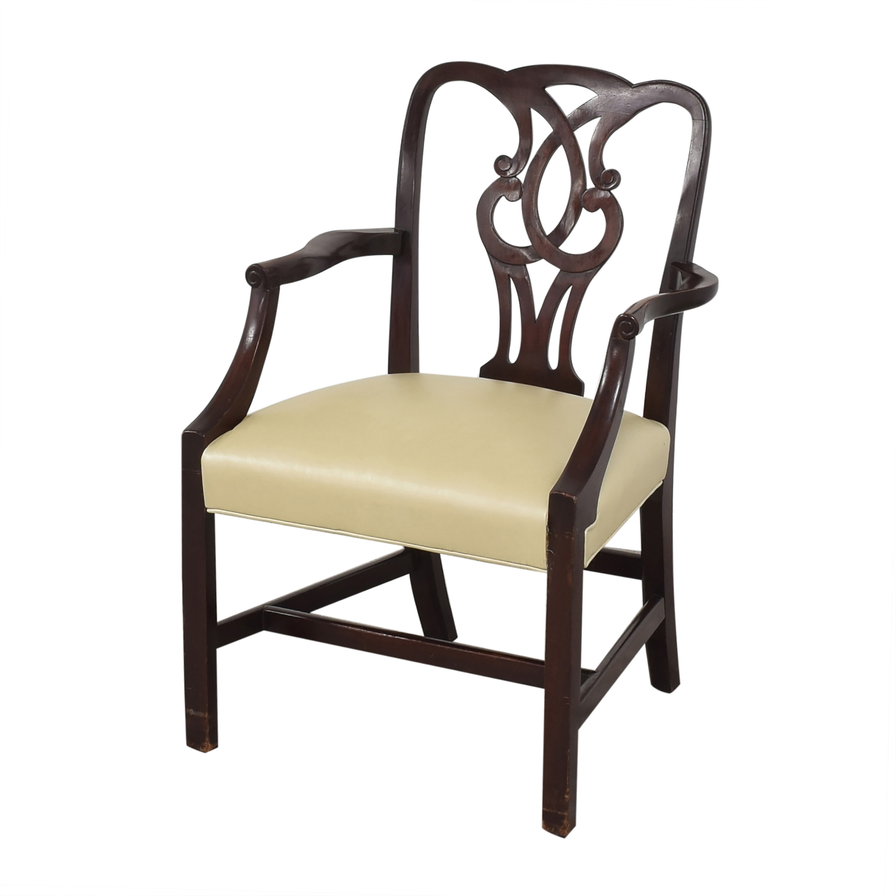Baker Furniture Baker Furniture Chippendale-Style Dining Arm Chairs used