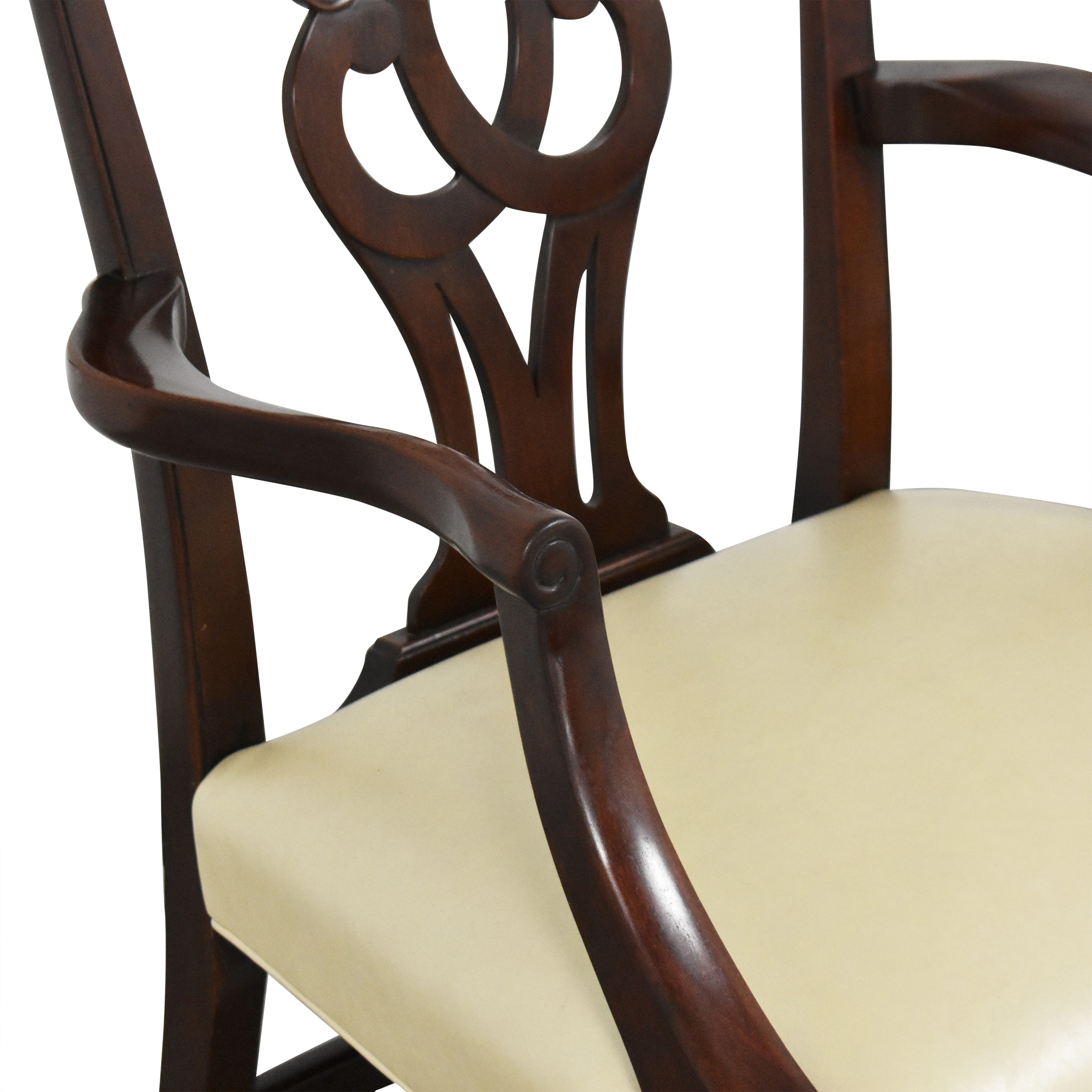 buy Baker Furniture Chippendale-Style Dining Arm Chairs Baker Furniture Chairs
