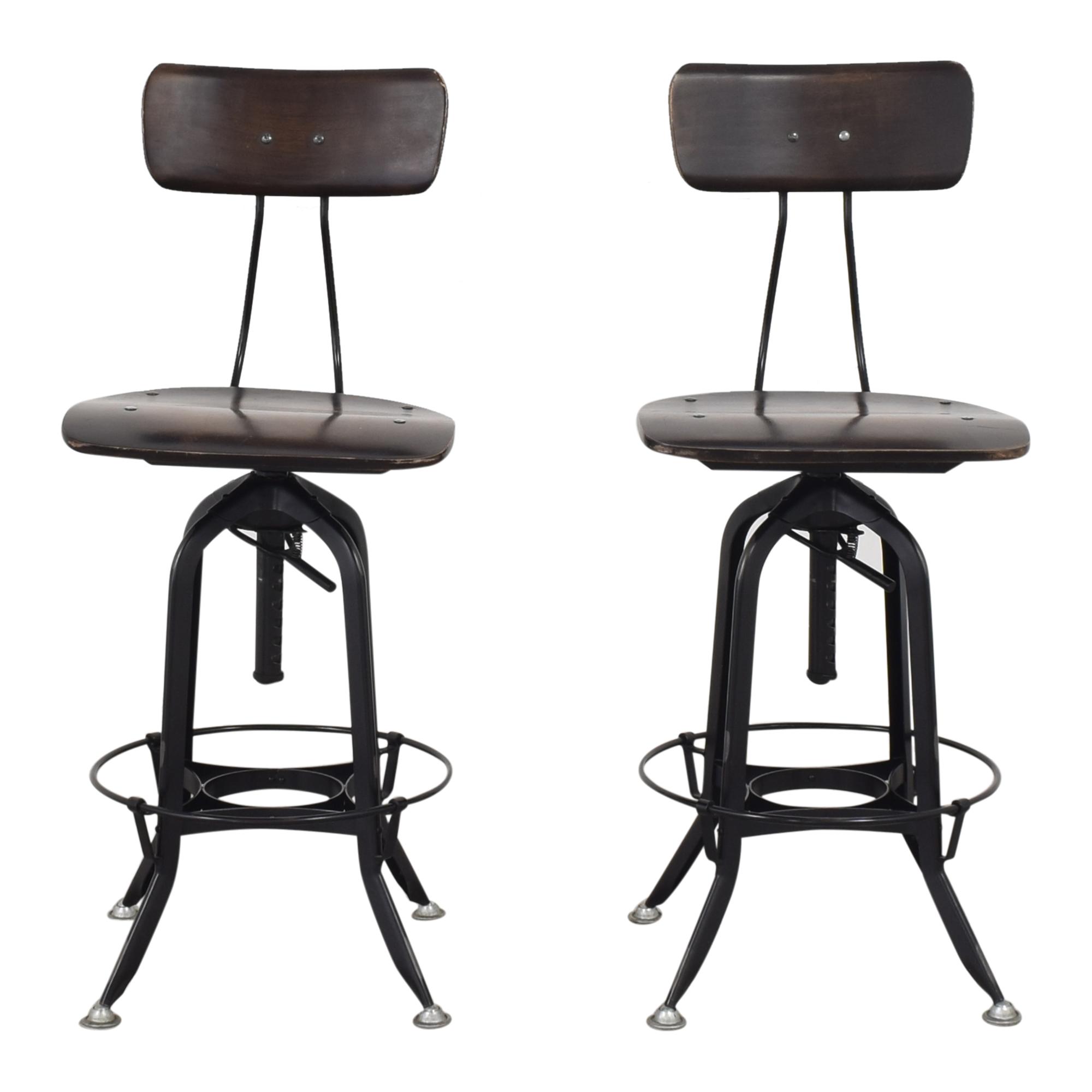buy Restoration Hardware Restoration Hardware 1940s Vintage Toledo Bar Chairs online