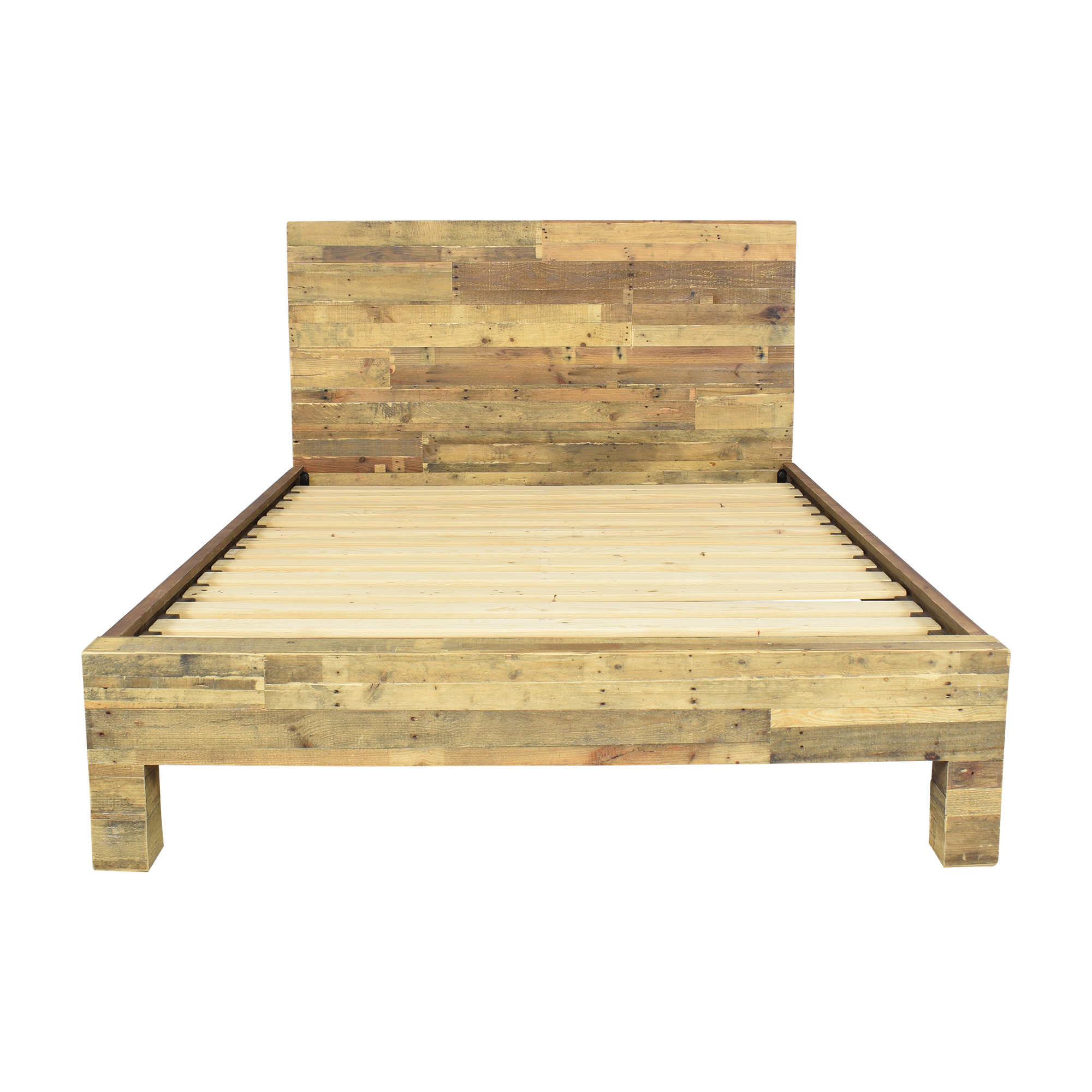 West Elm West Elm Emmerson Reclaimed Queen Bed ma