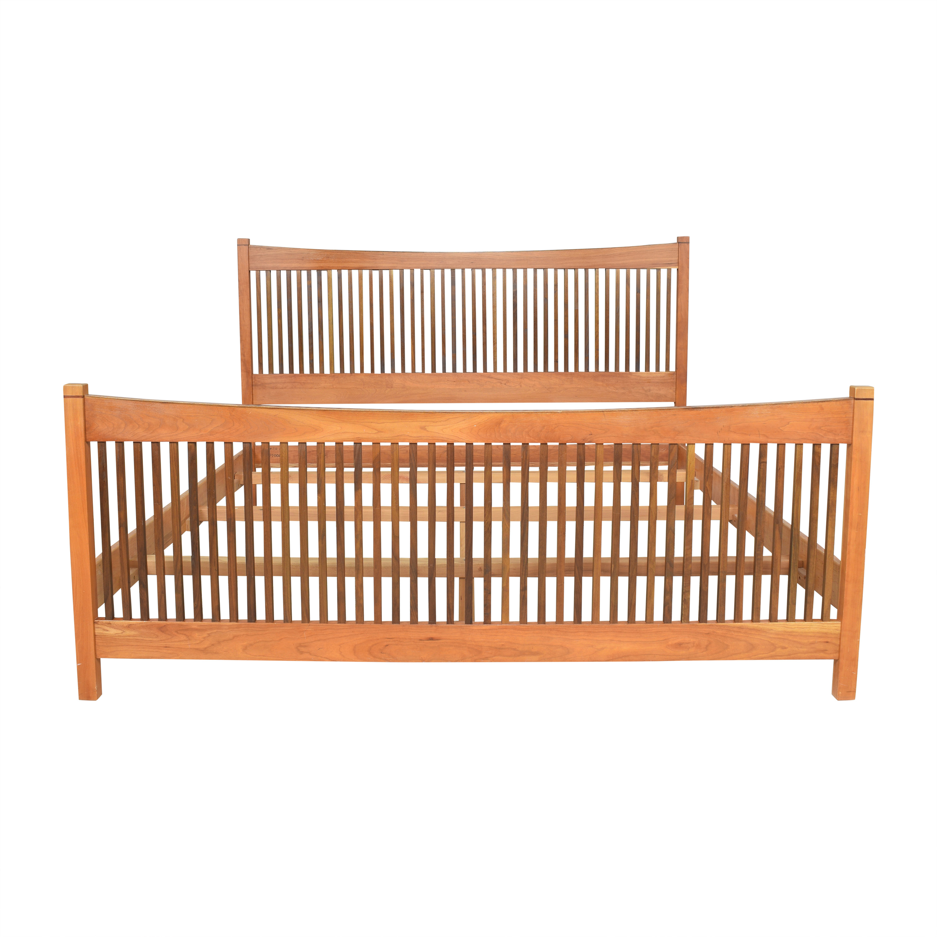 buy Stickley Furniture Metropolitan Spindle King Bed Stickley Furniture Bed Frames