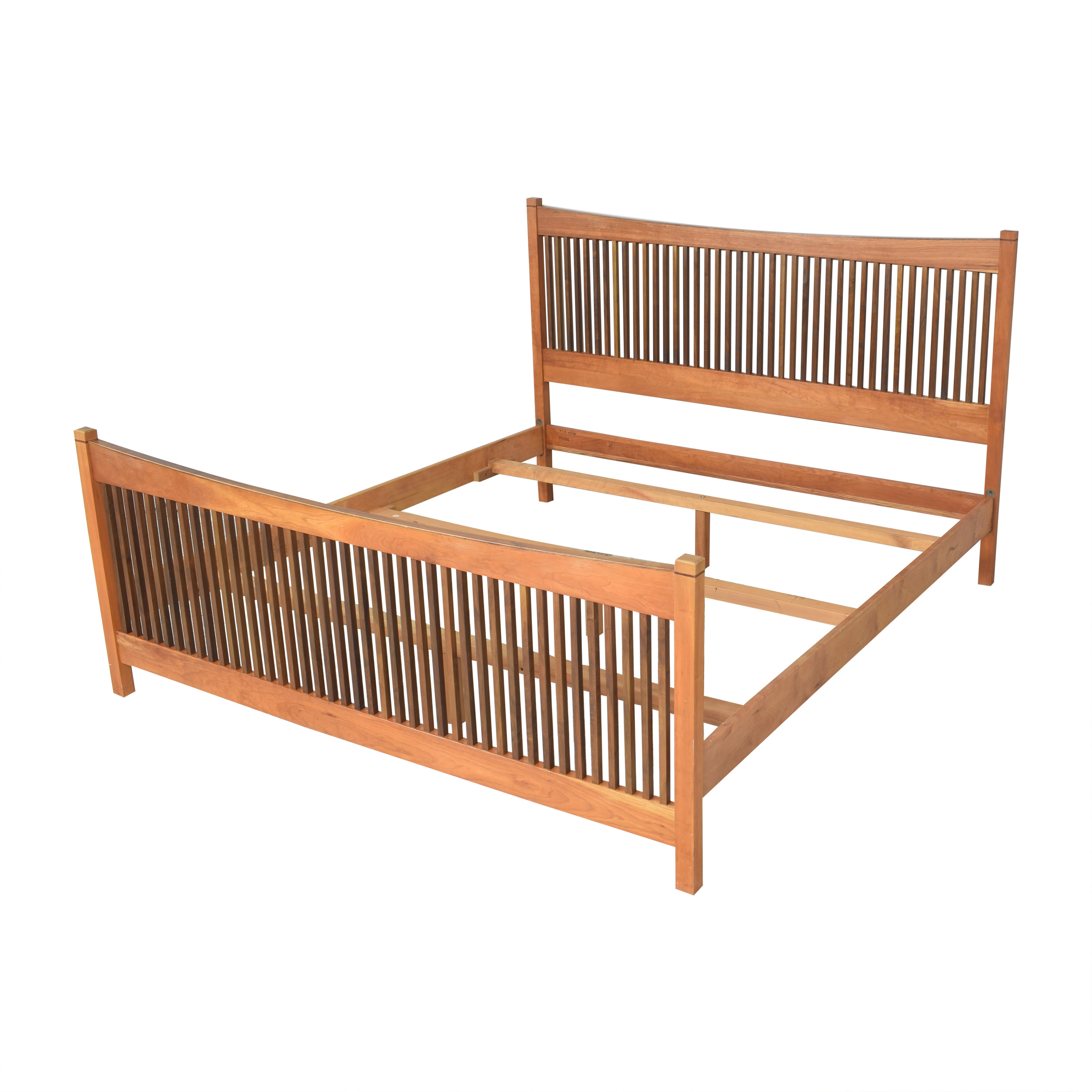 Stickley Furniture Stickley Furniture Metropolitan Spindle King Bed Beds