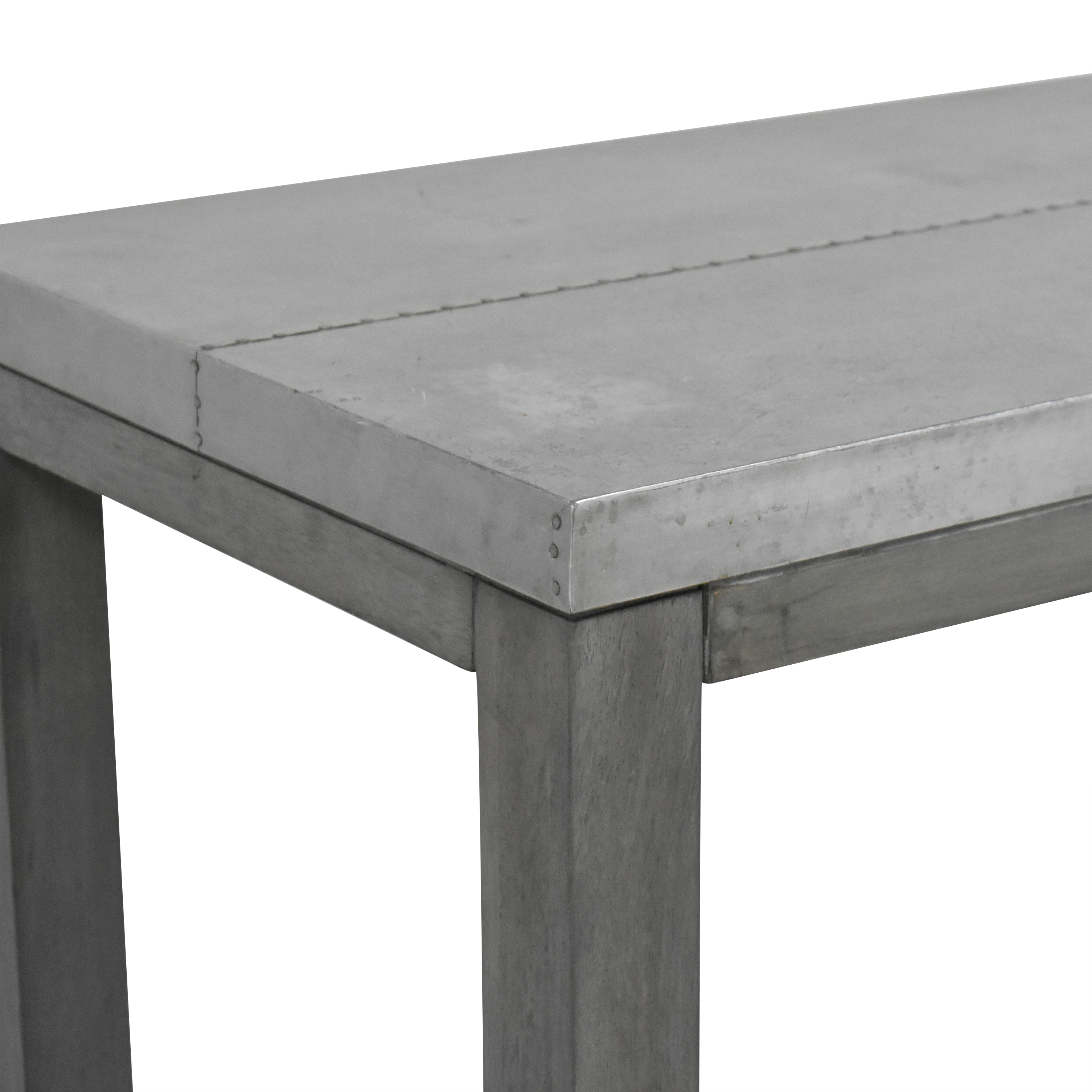 shop CB2 Stern Counter Dining Table CB2 Utility Tables