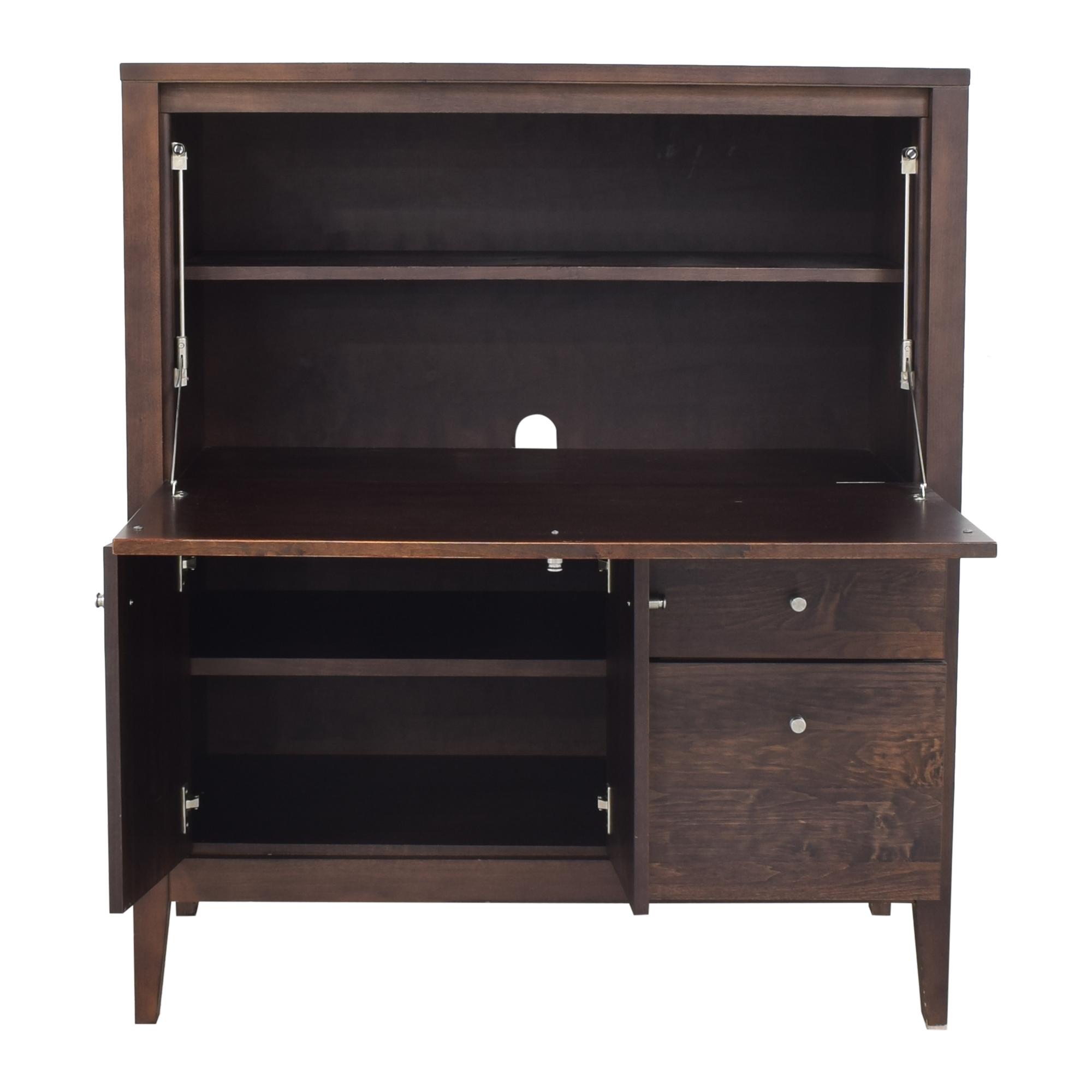 shop Room & Board Custom Linear Office Armoire Room & Board Wardrobes & Armoires