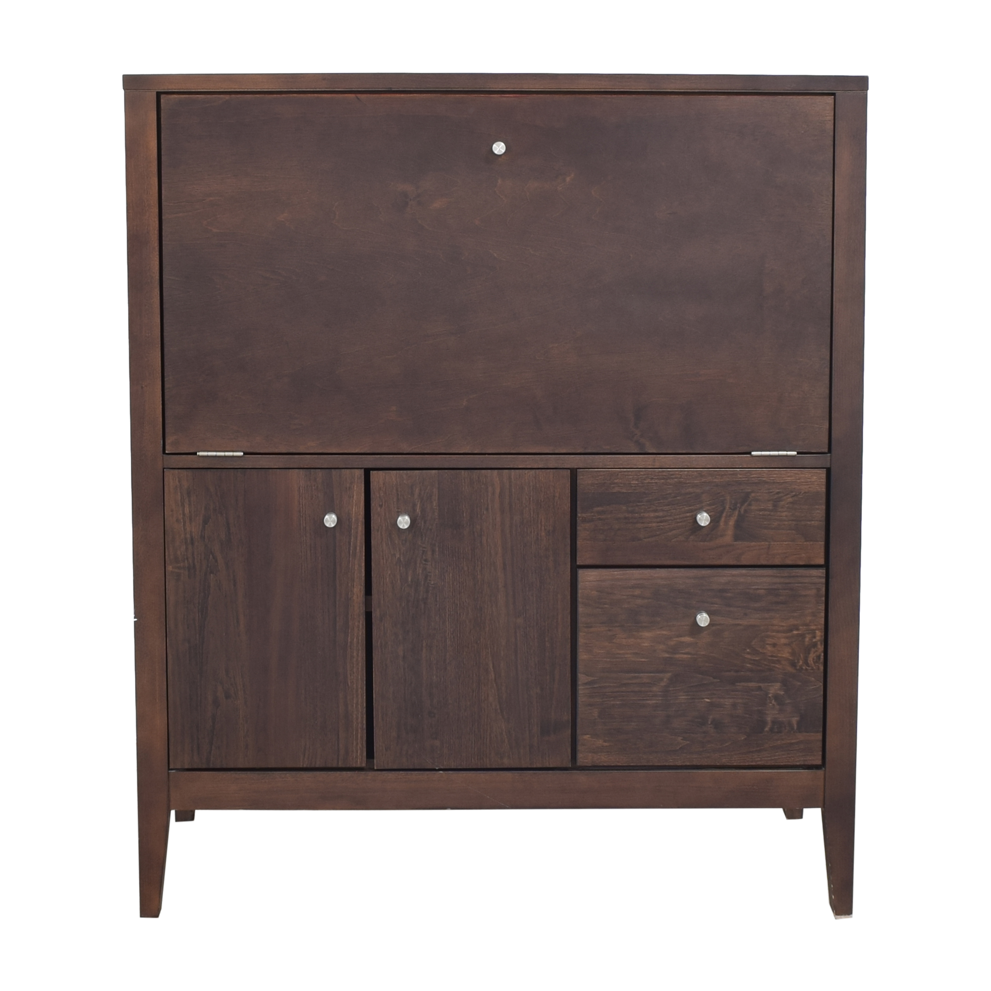 buy Room & Board Custom Calvin Office Armoire Room & Board Storage