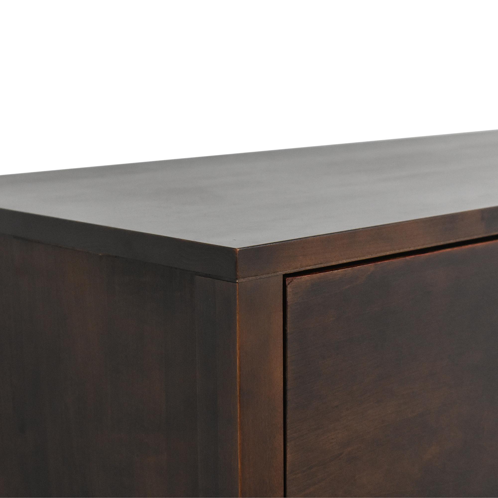 buy Room & Board Custom Linear Office Armoire Room & Board Storage