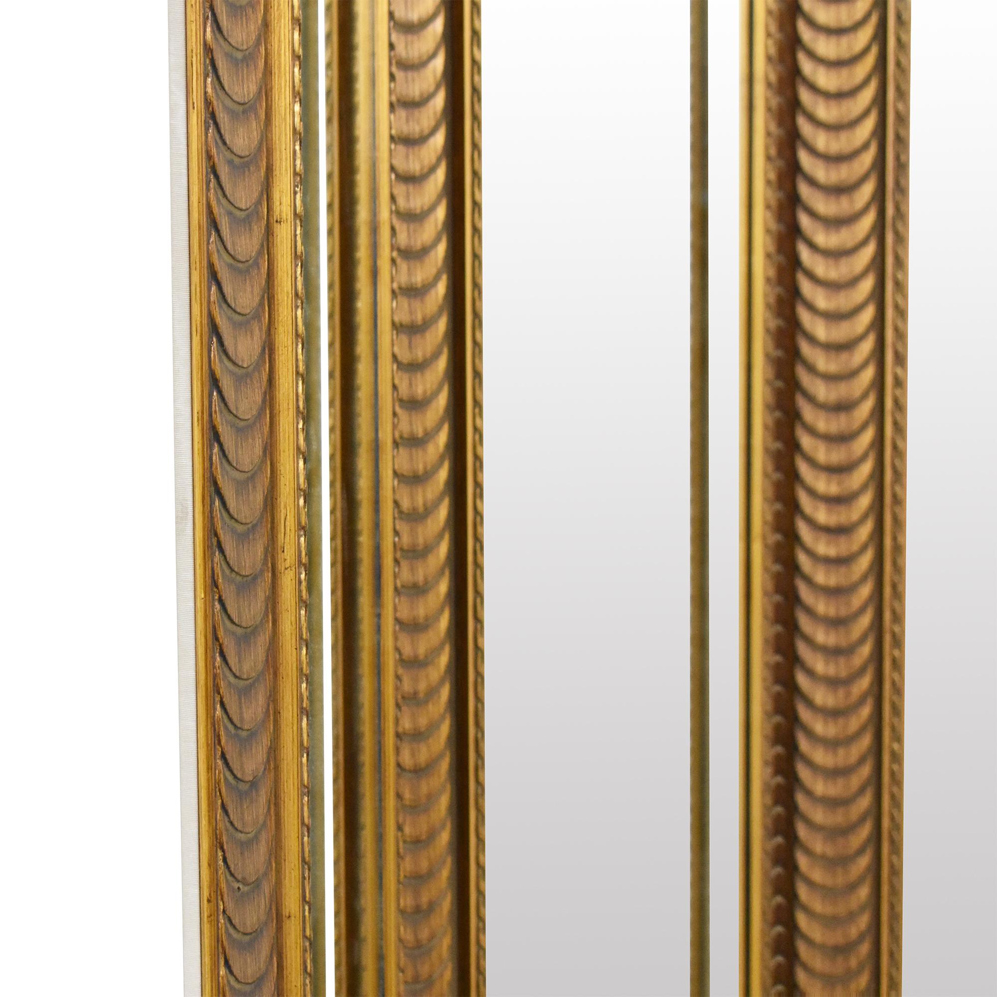 Tri-Panel Floor Mirror on sale