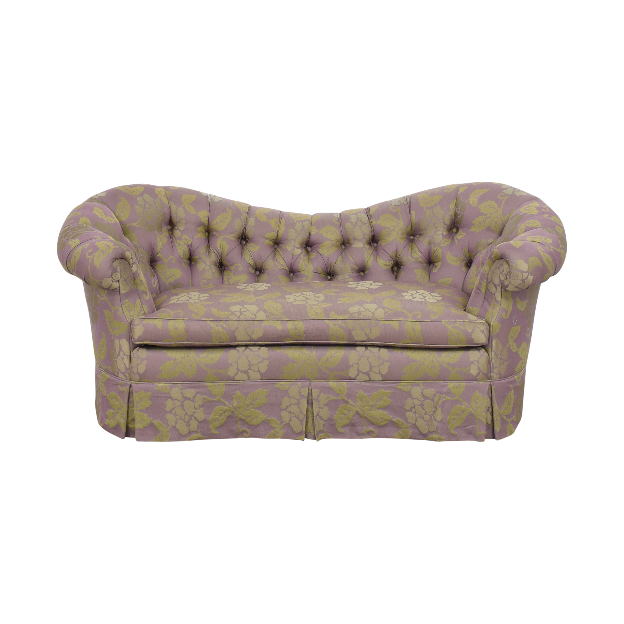 Custom Tufted Loveseat Loveseats
