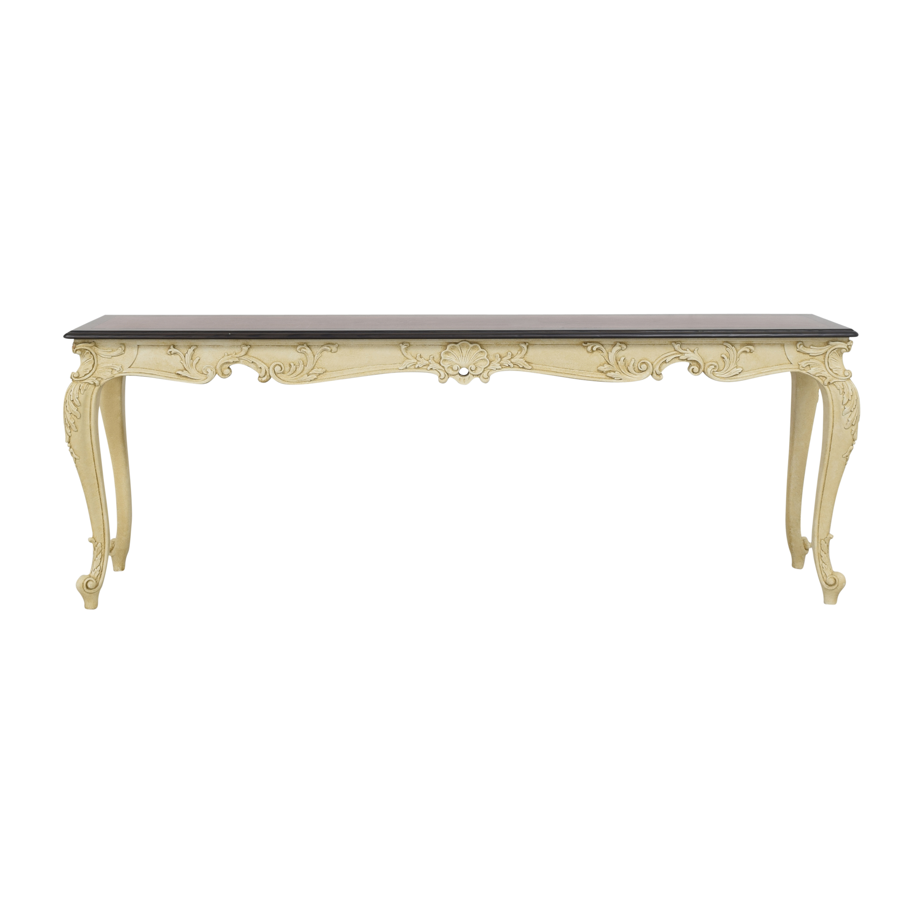 French-Style Carved Console Table coupon