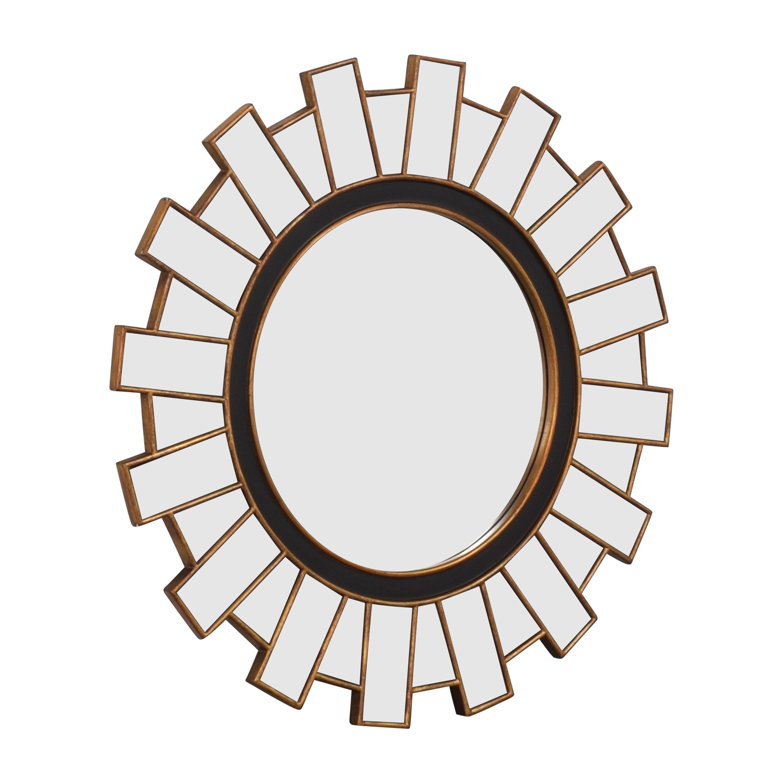 buy Williams Sonoma Sunburst Multi Panel Mirror Williams Sonoma Mirrors