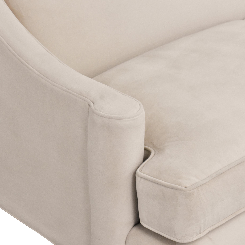 shop Room & Board Loring Two Cushion Sofa Room & Board