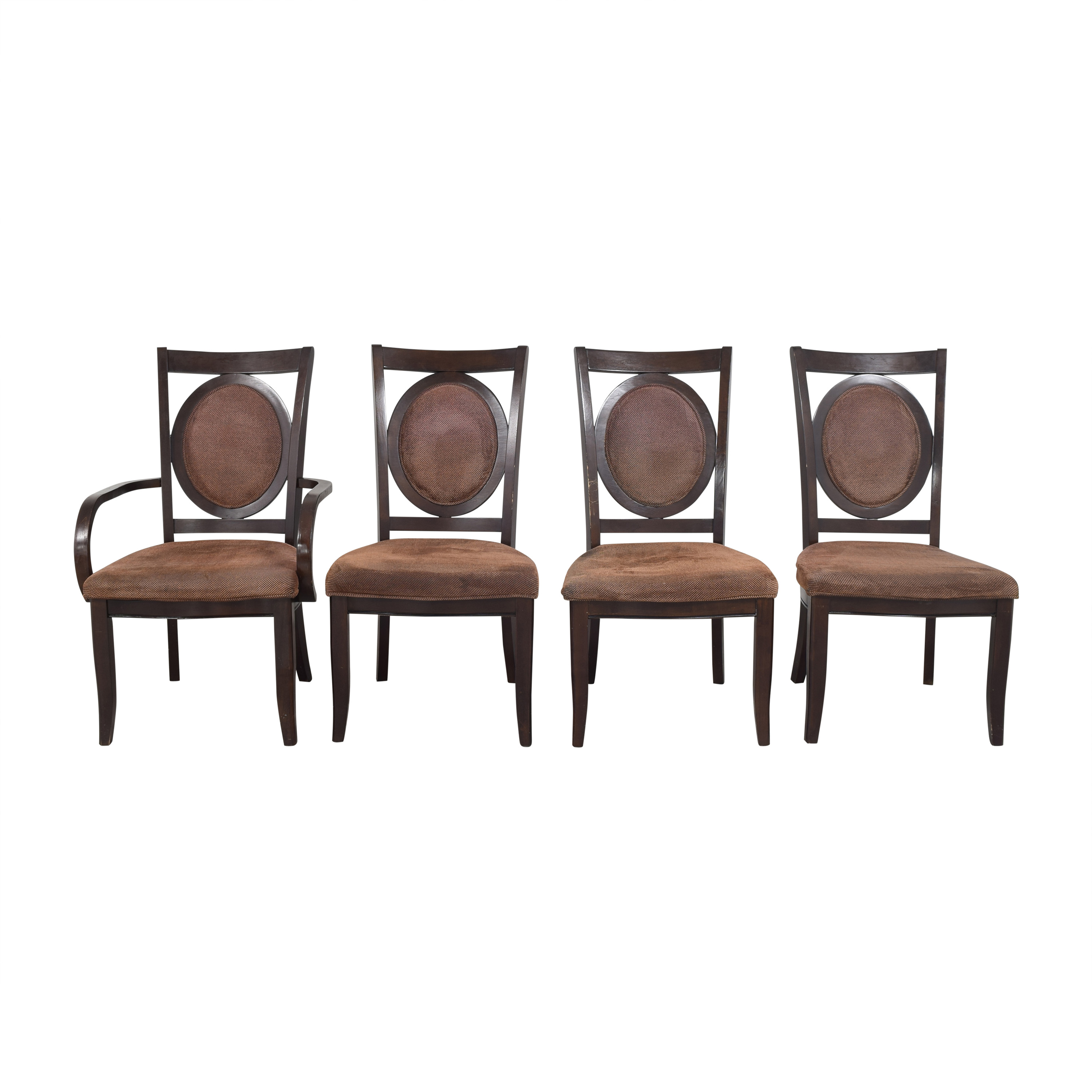 Steve Silver Co Steve Silver Co Medallion Back Dining Chairs pa