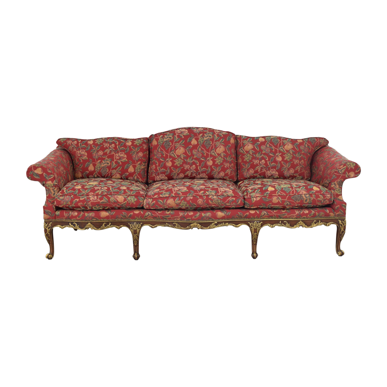 Vintage Camelback Sofa second hand
