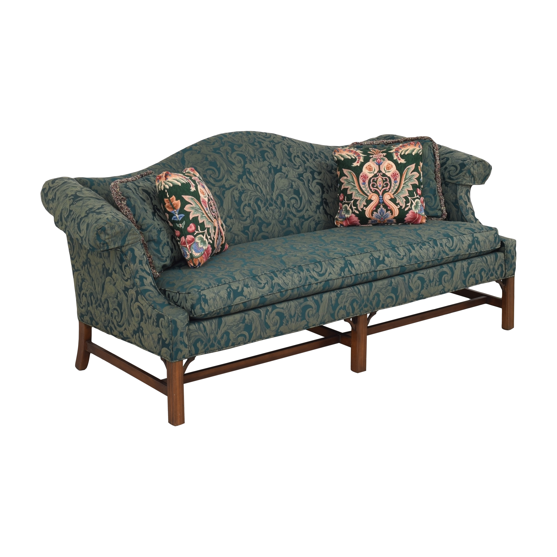 buy Ethan Allen Camelback Chippendale Sofa Ethan Allen