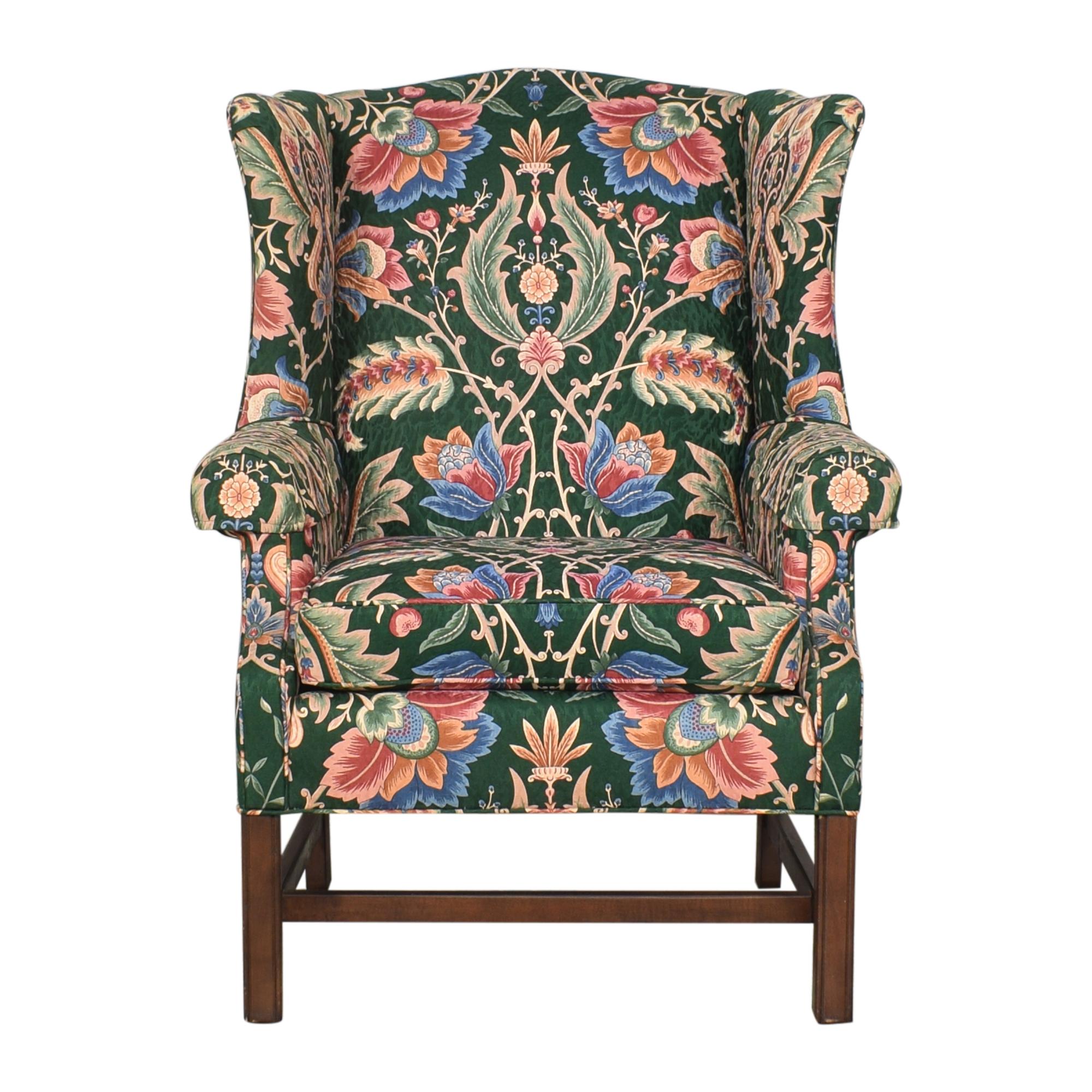 buy Ethan Allen Skylar Wing Chair Ethan Allen Accent Chairs