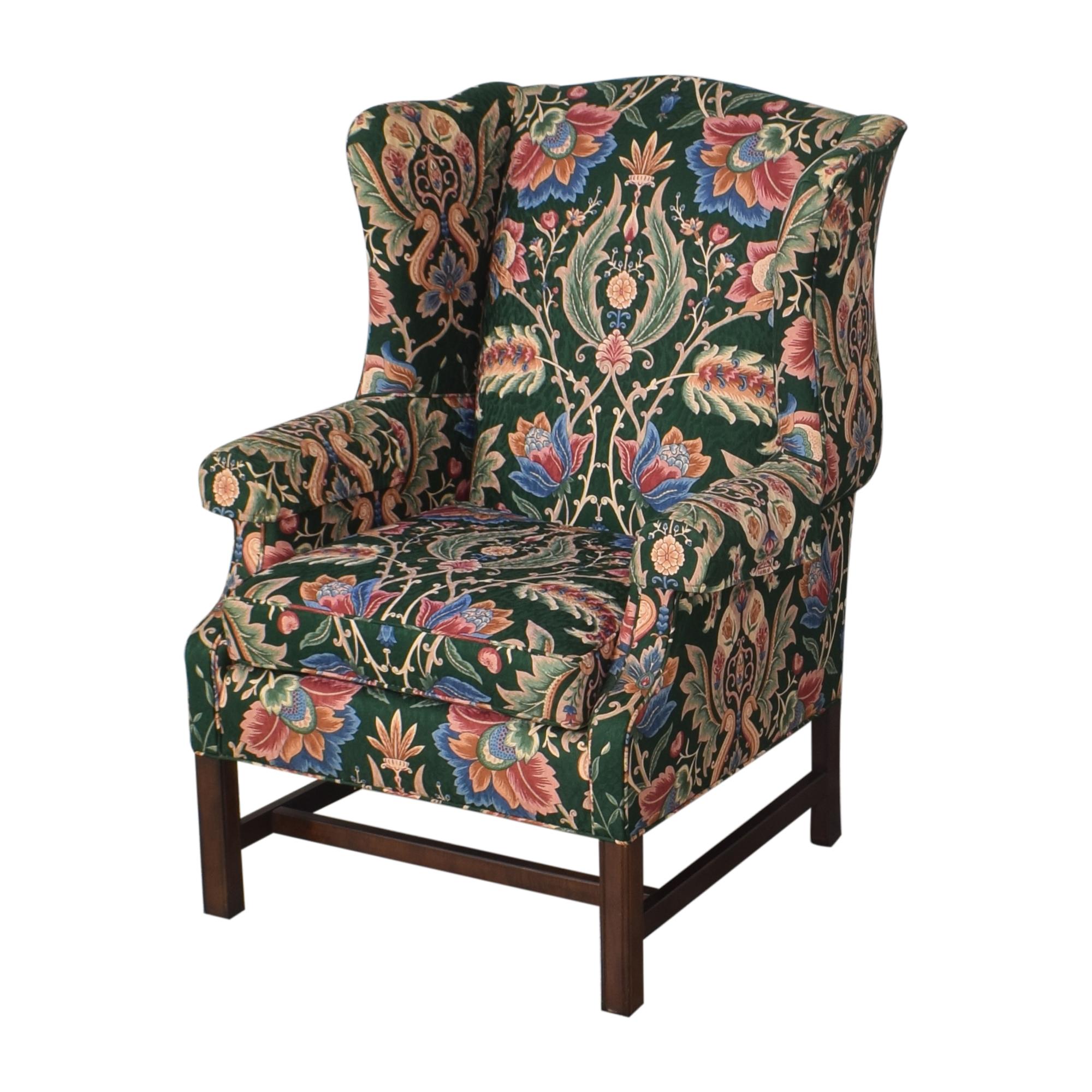 shop Ethan Allen Skylar Wing Chair Ethan Allen Accent Chairs