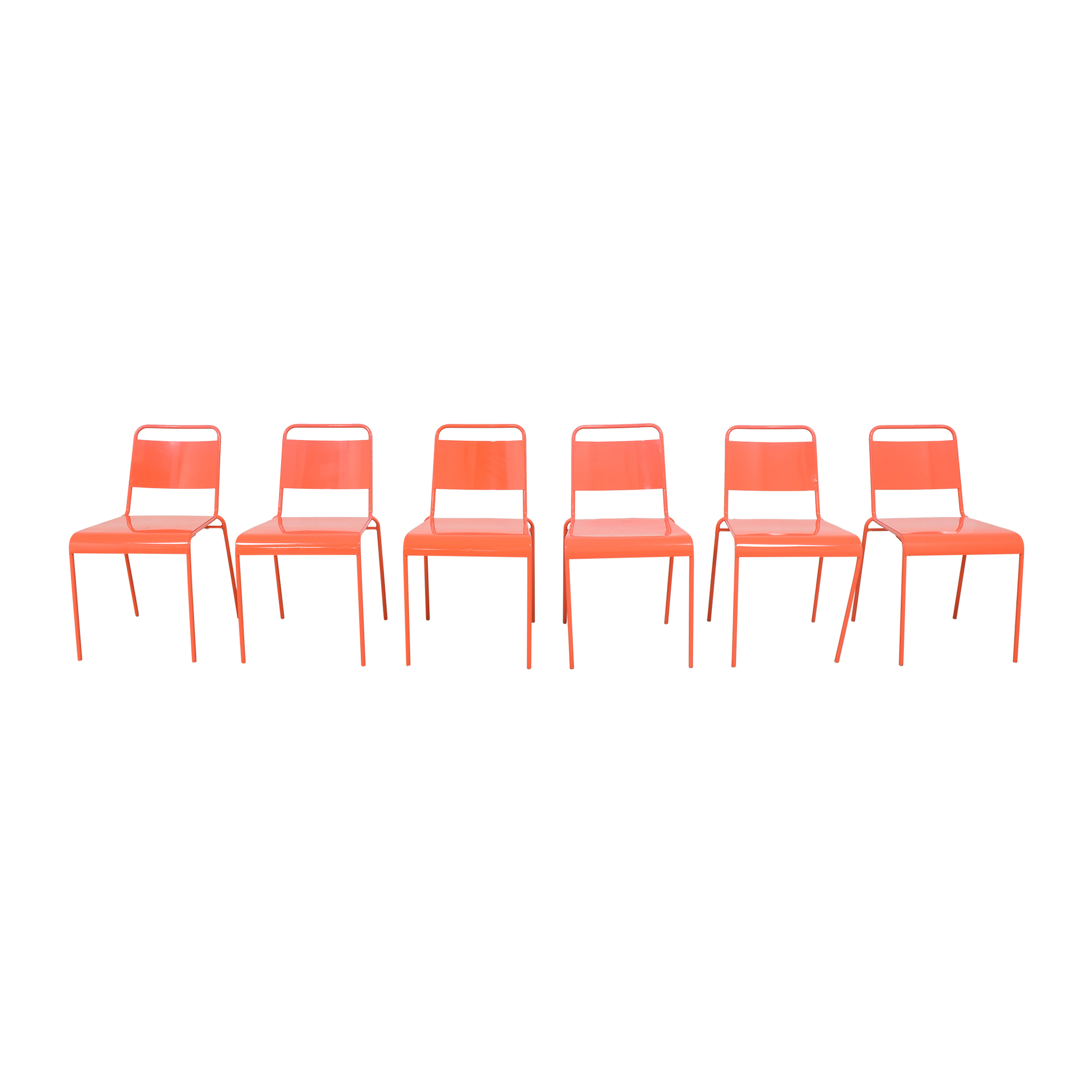 buy CB2 Lucinda Stacking Chairs CB2 Dining Chairs