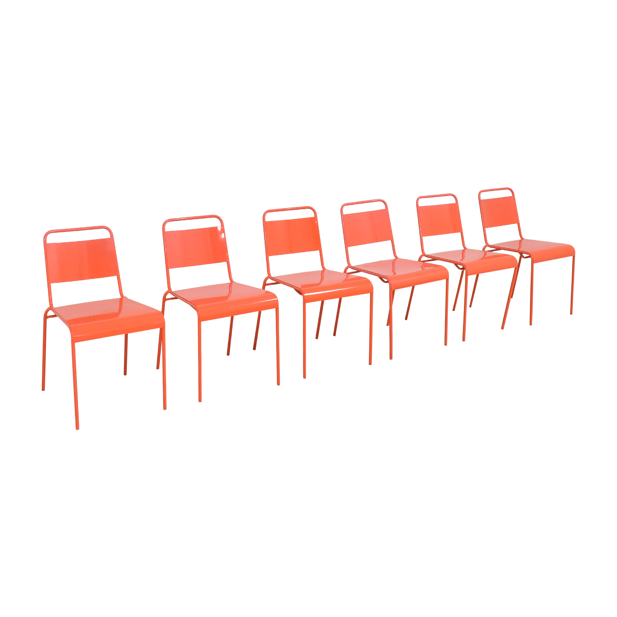 CB2 CB2 Lucinda Stacking Chairs second hand