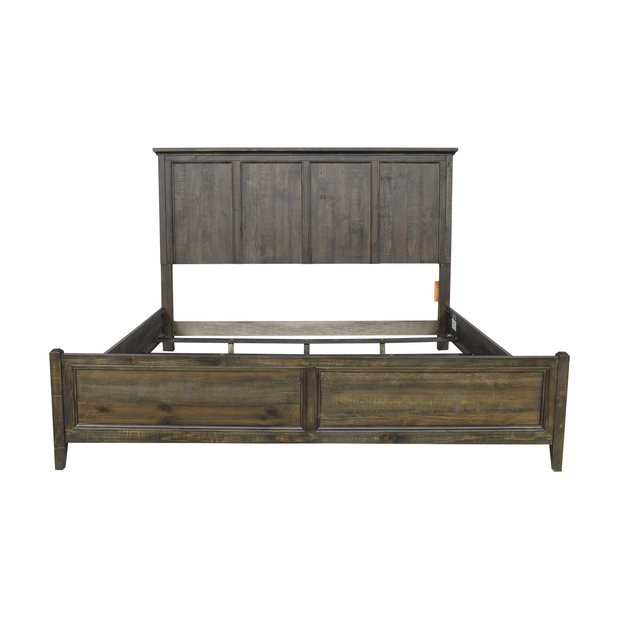 Raymour & Flanigan Raymour & Flanigan King Panel Bed for sale