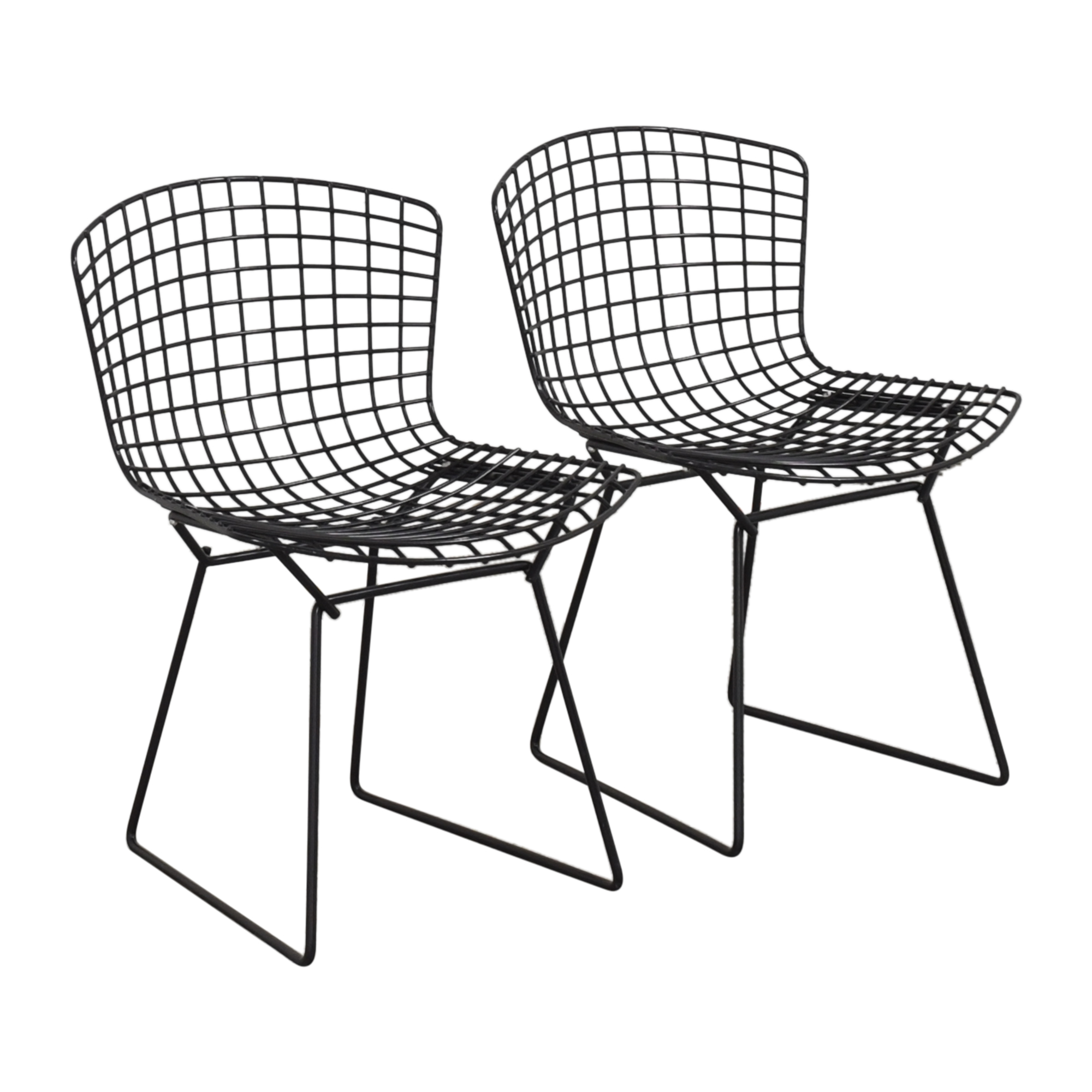 Knoll Knoll Bertoia Side Chairs used