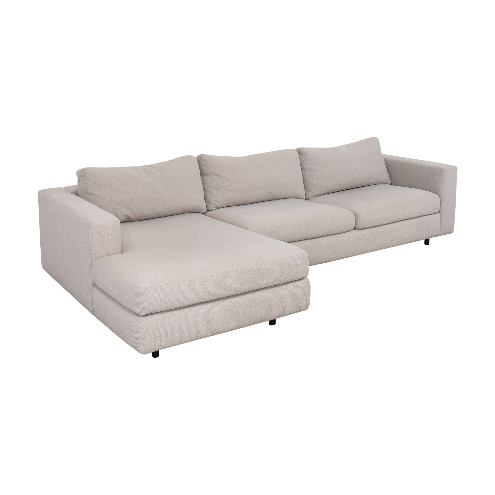 buy Design Within Reach Reid Sectional Sofa Design Within Reach Sectionals