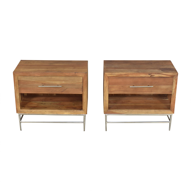 shop Hooker Furniture  L'Usine Leg Nightstands Hooker Furniture End Tables