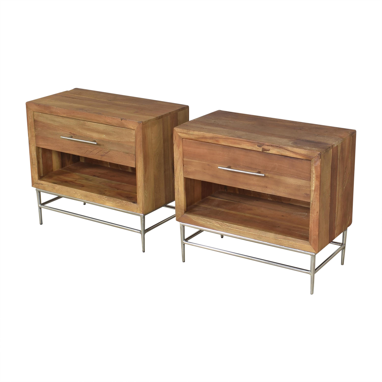 Hooker Furniture  L'Usine Leg Nightstands Hooker Furniture