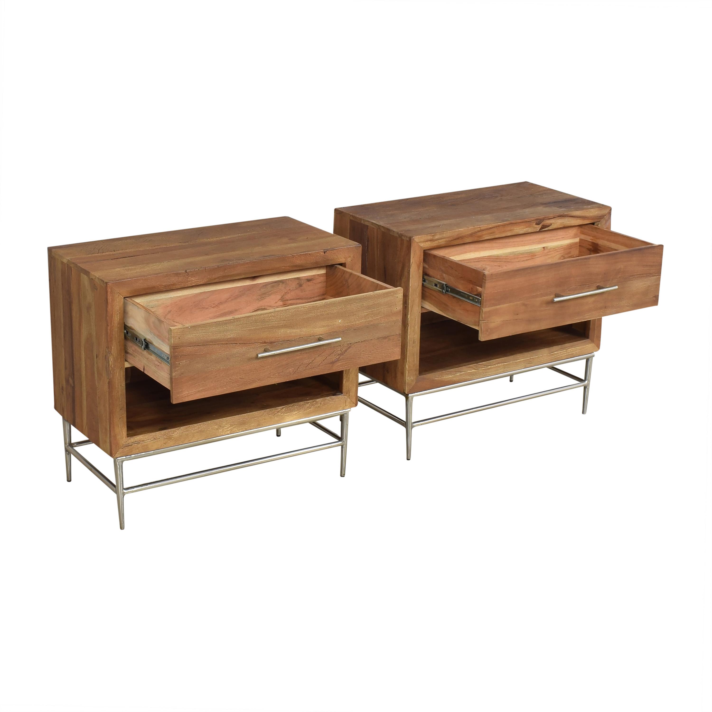 buy Hooker Furniture  L'Usine Leg Nightstands Hooker Furniture End Tables
