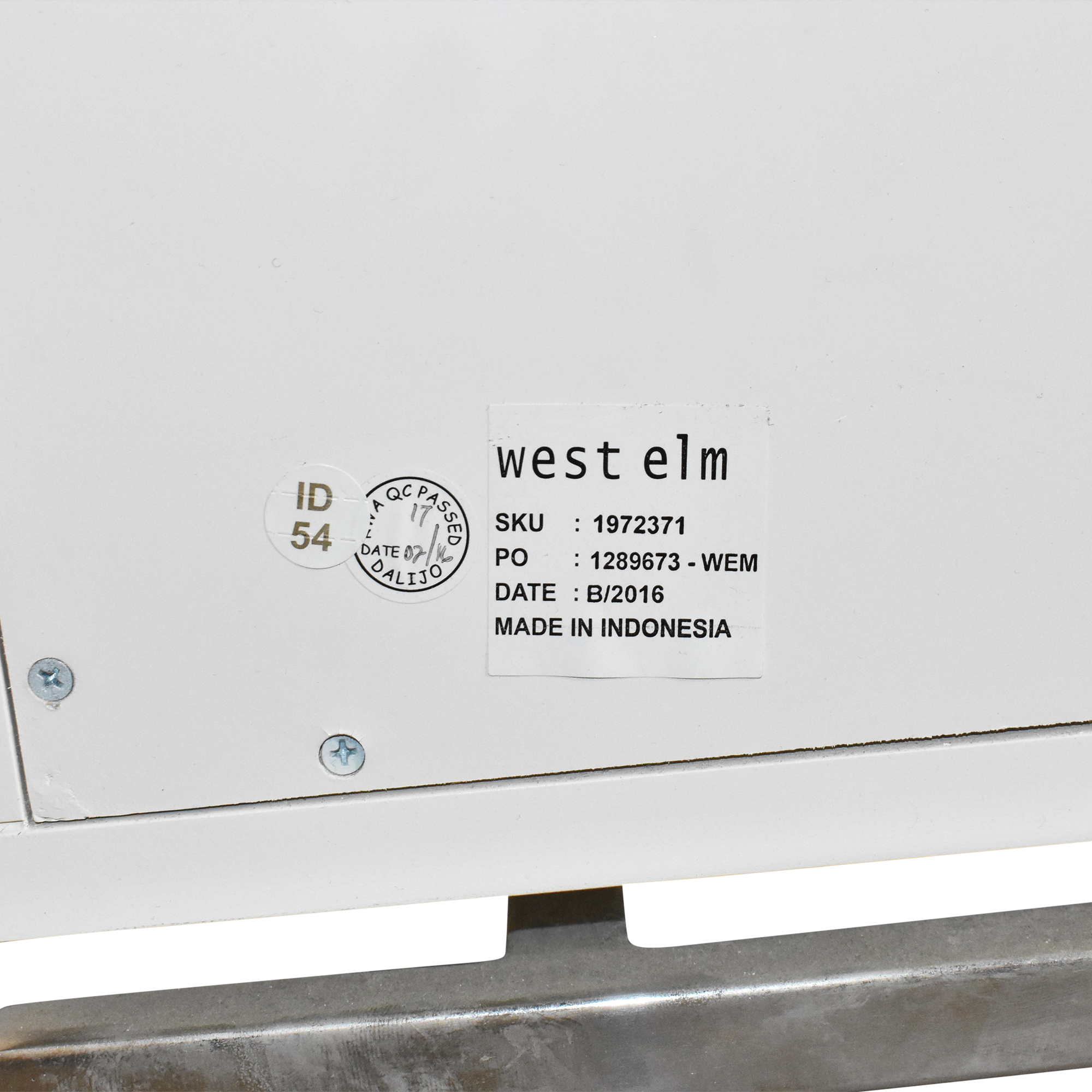 West Elm West Elm Malone Campaign Dresser used