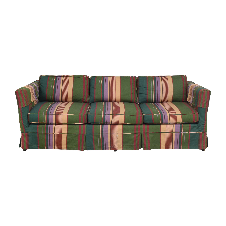 Pem-Kay Pem-Kay Three Cushion Skirted Sofa Multi