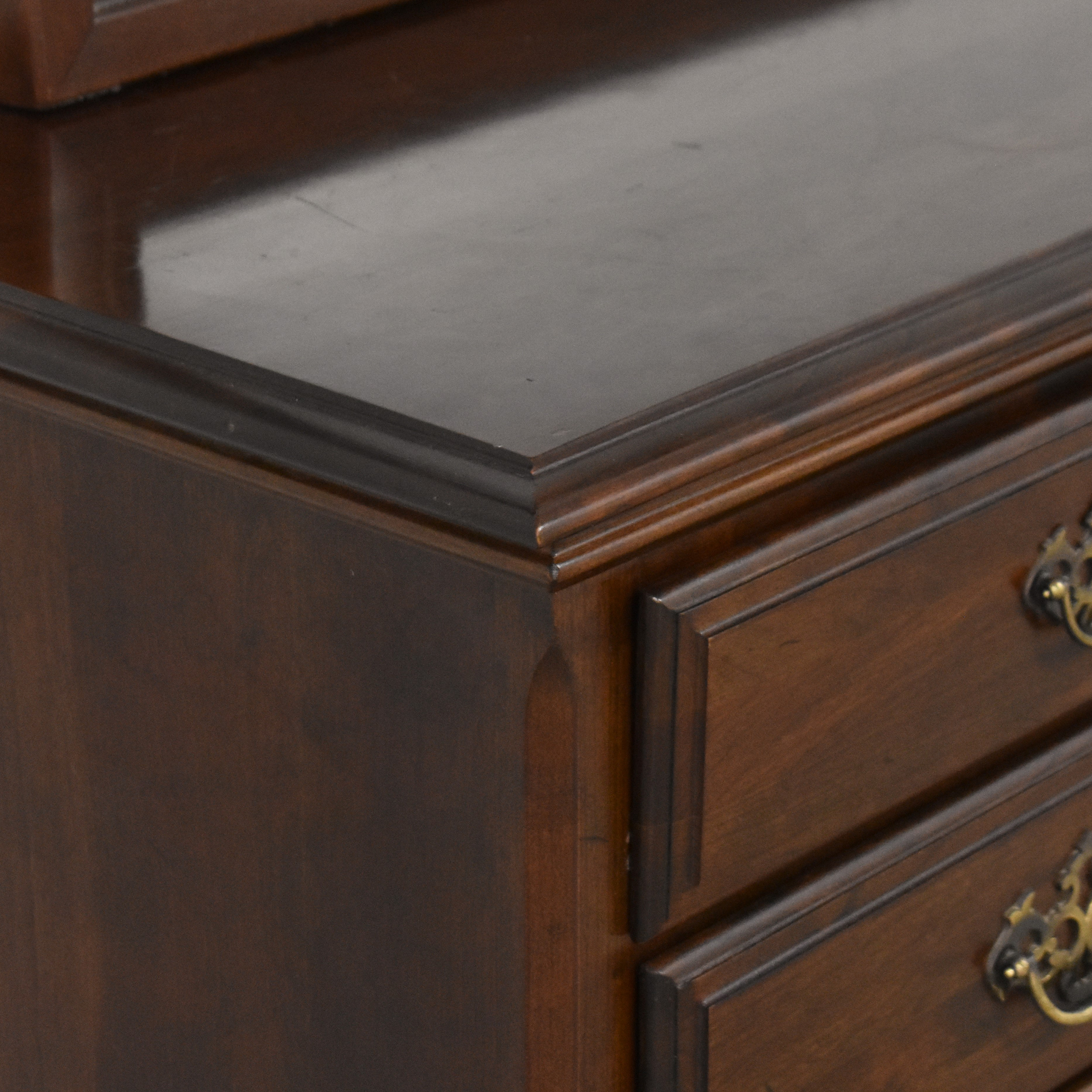 buy Chippendale-Style Dresser with Mirror