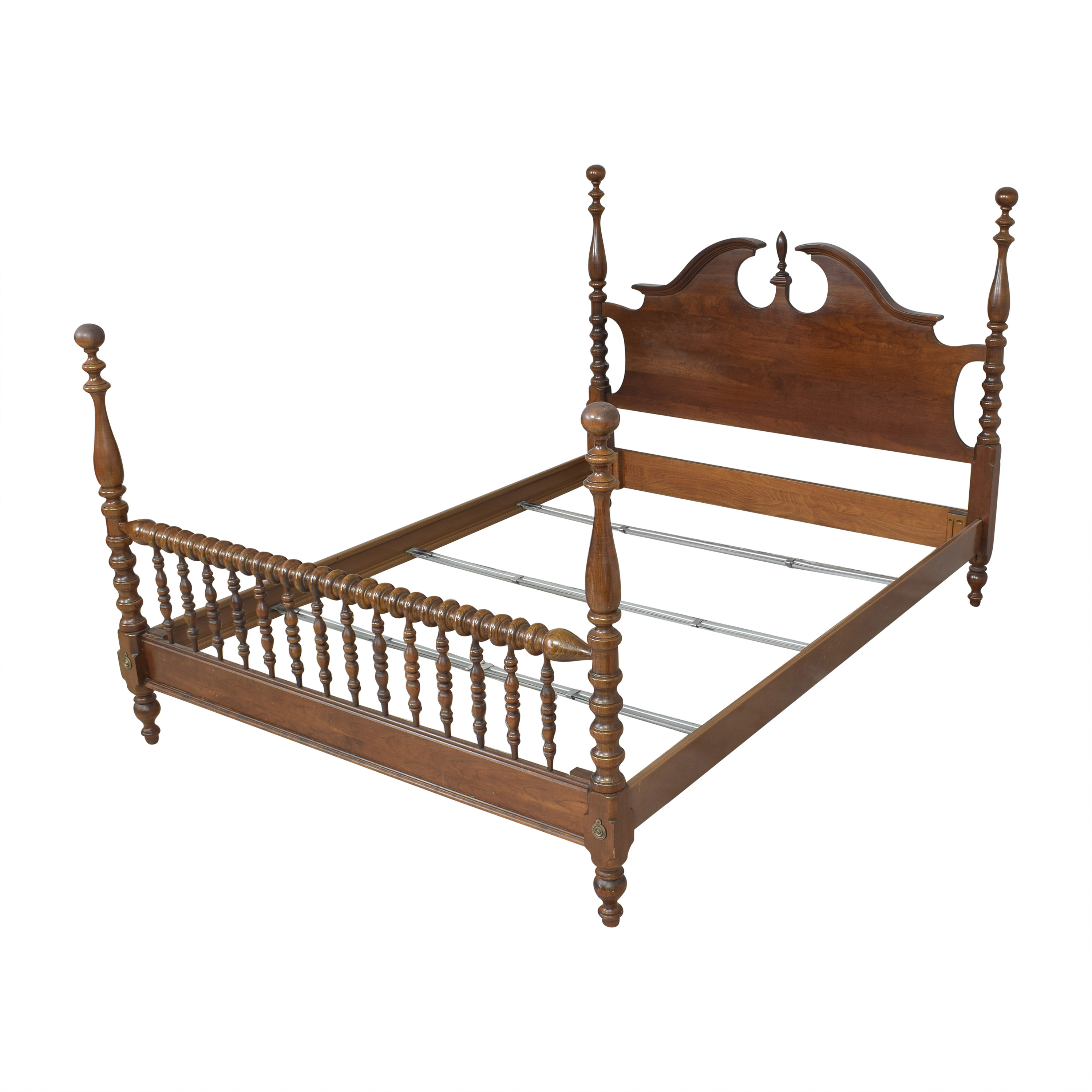 Chippendale-Style Poster Queen Bed coupon