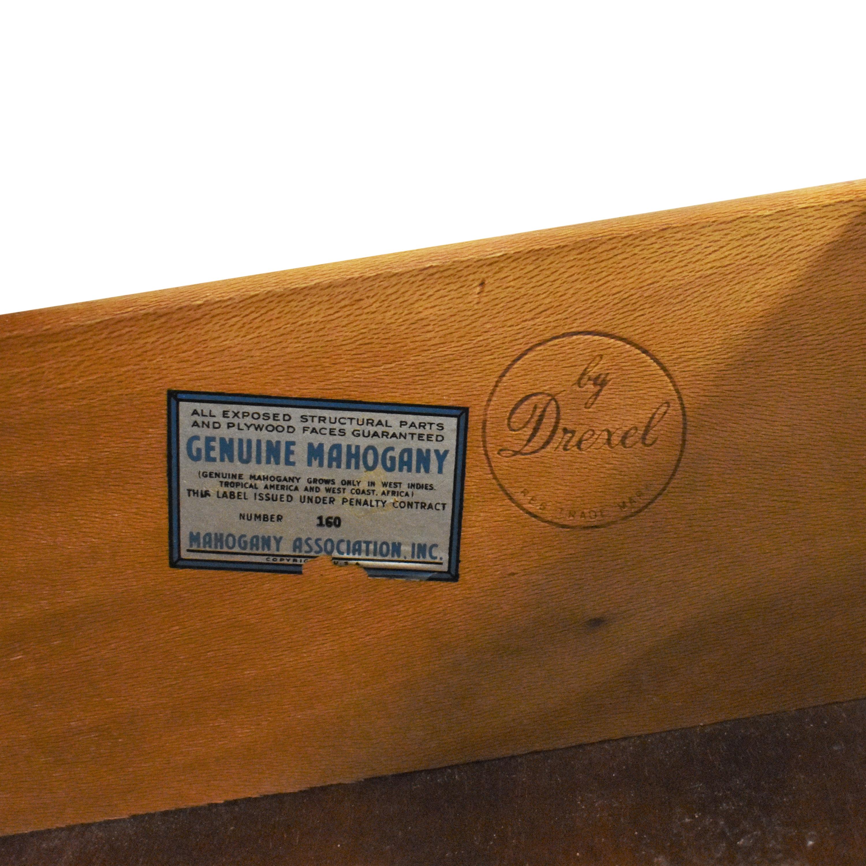 buy Drexel Travis Court Serpentine Dresser with Mirror Drexel Storage