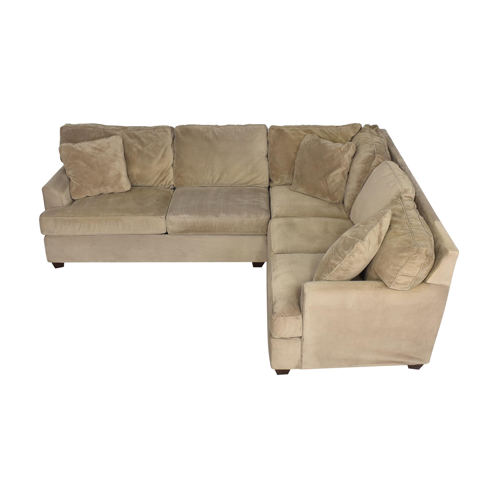 buy JC Penney Corner Sectional Sofa JC Penney Sofas