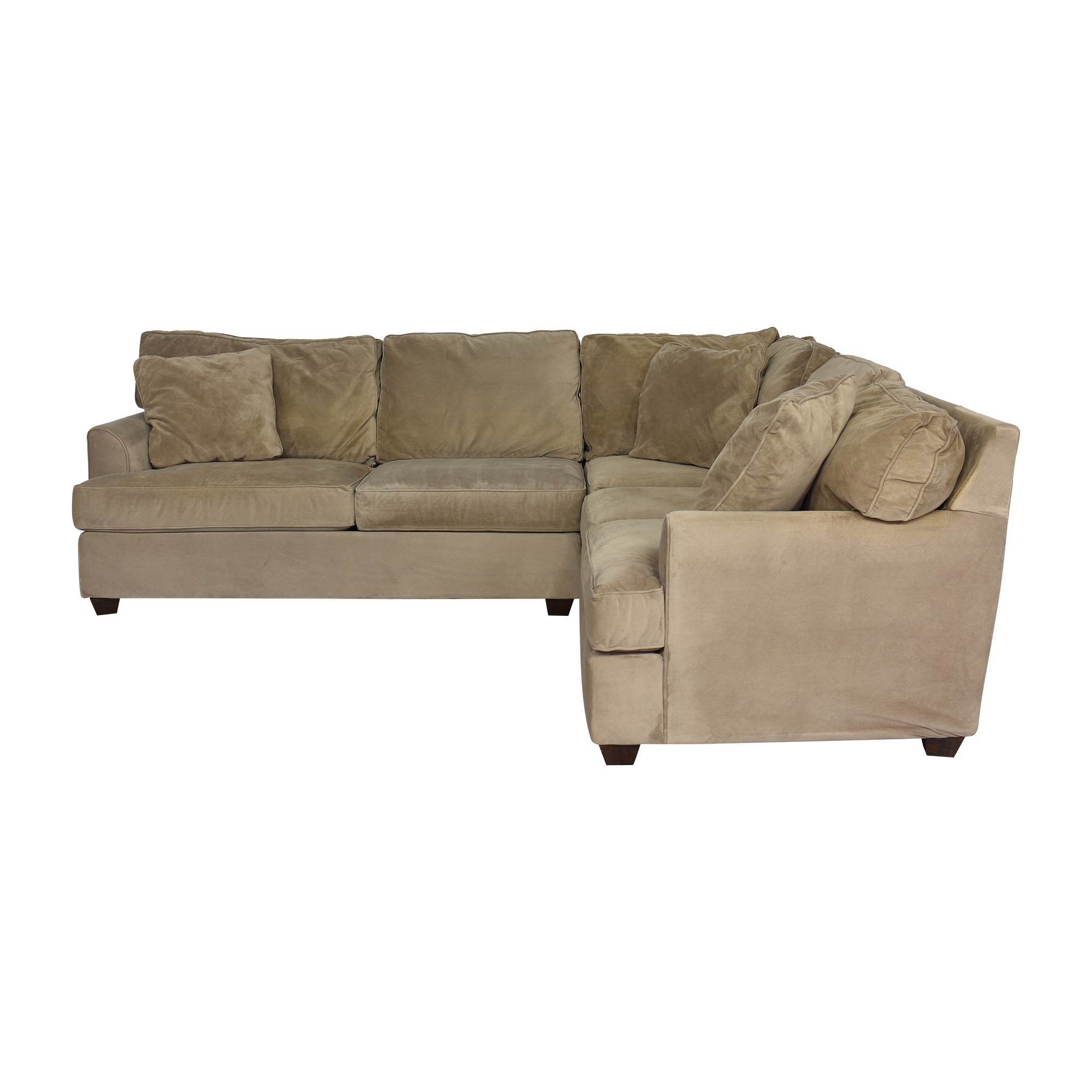JC Penney Corner Sectional Sofa sale