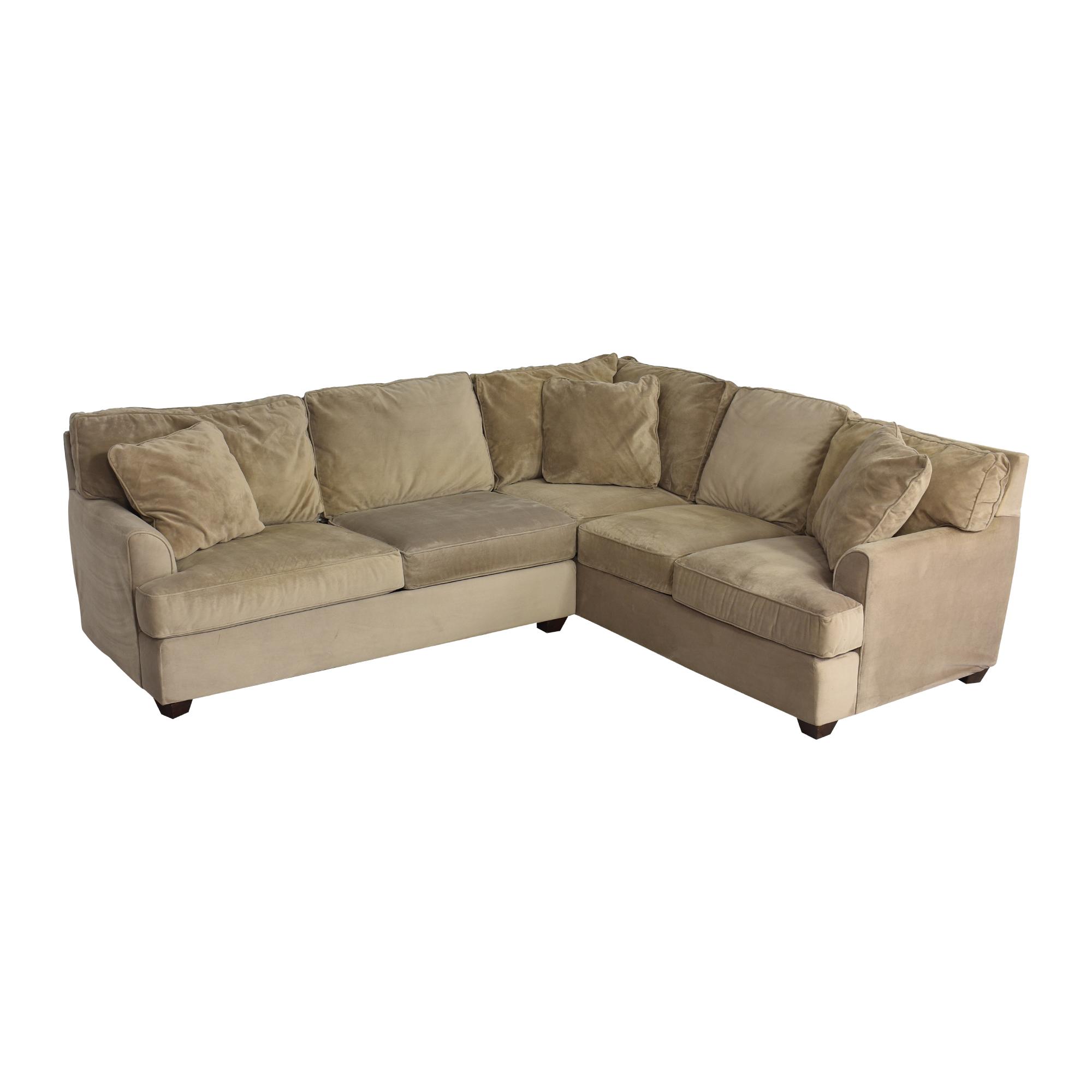 JC Penney Corner Sectional Sofa / Sofas