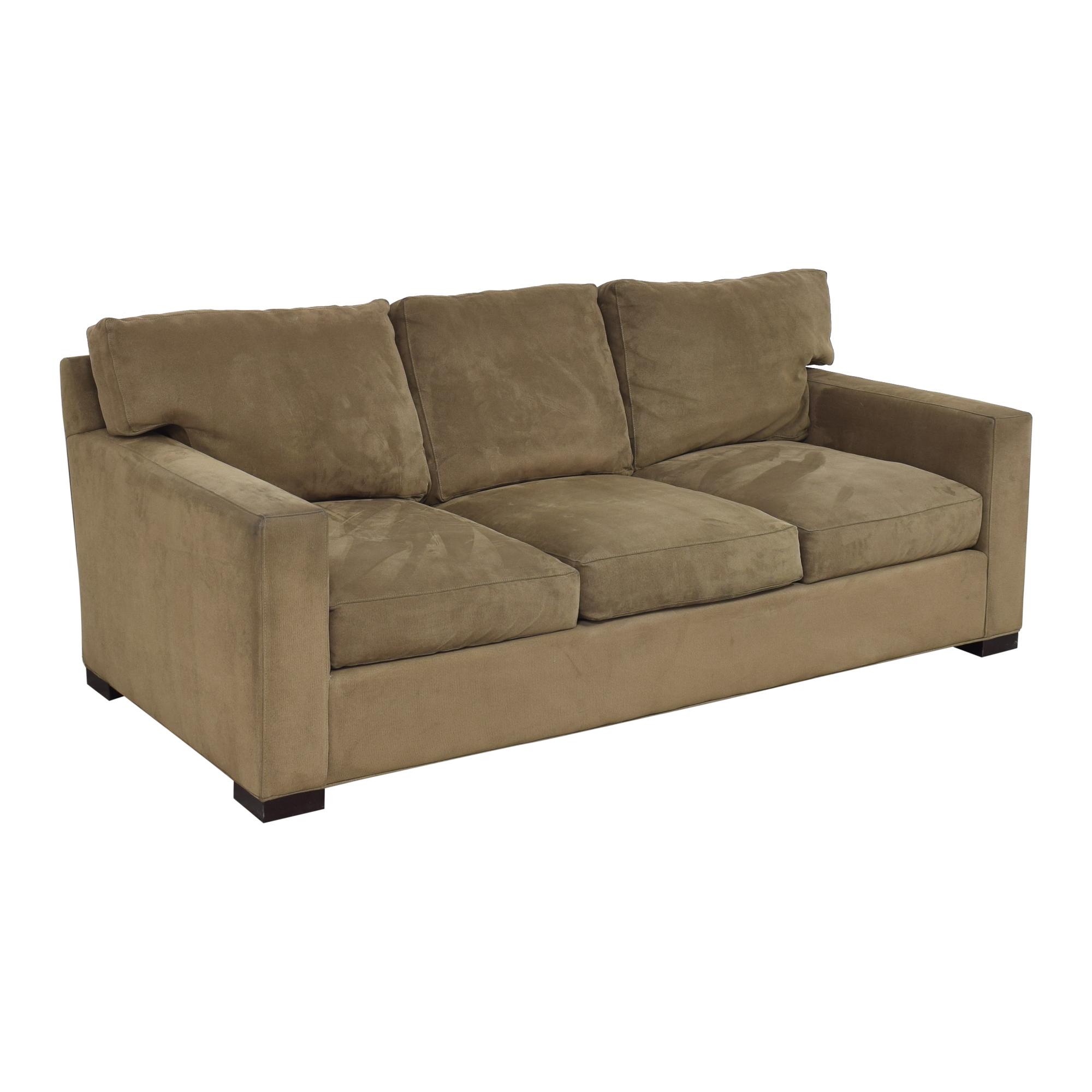 Crate & Barrel Axis Three Seat Sofa Crate & Barrel