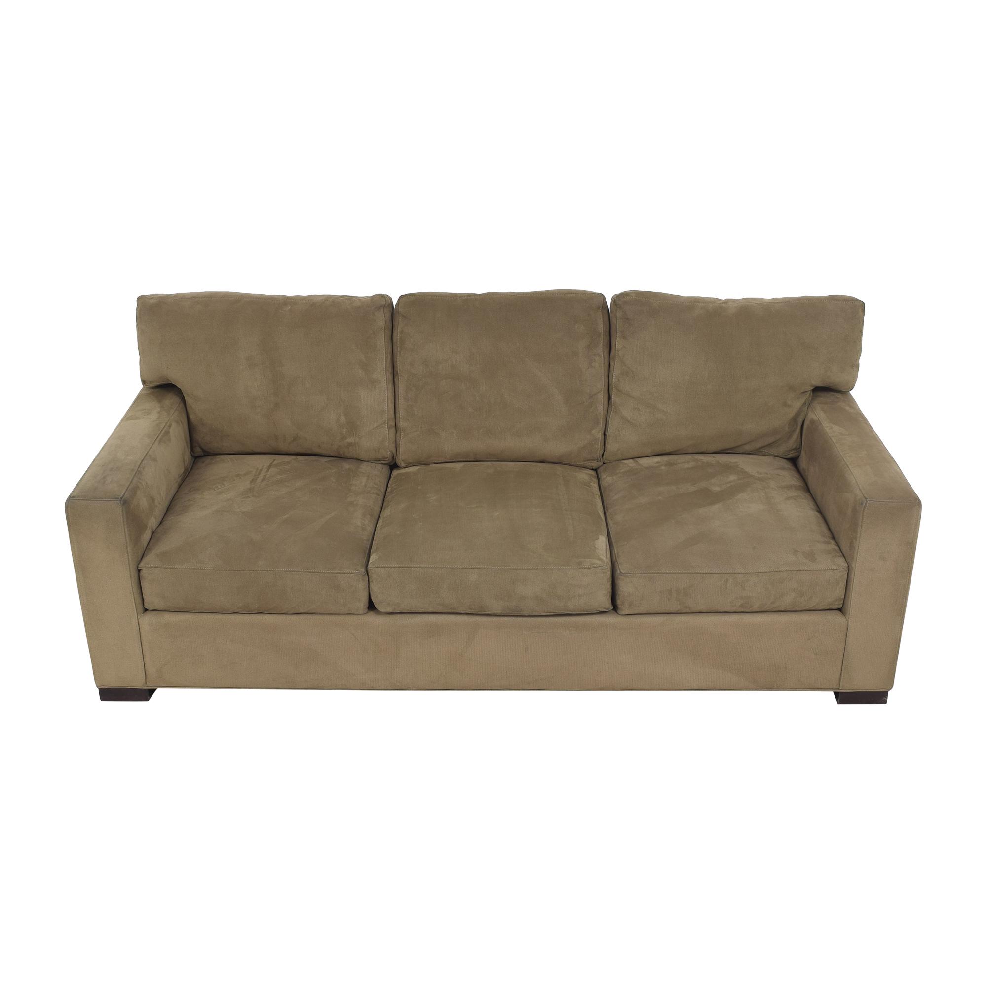 Crate & Barrel Crate & Barrel Axis Three Seat Sofa discount