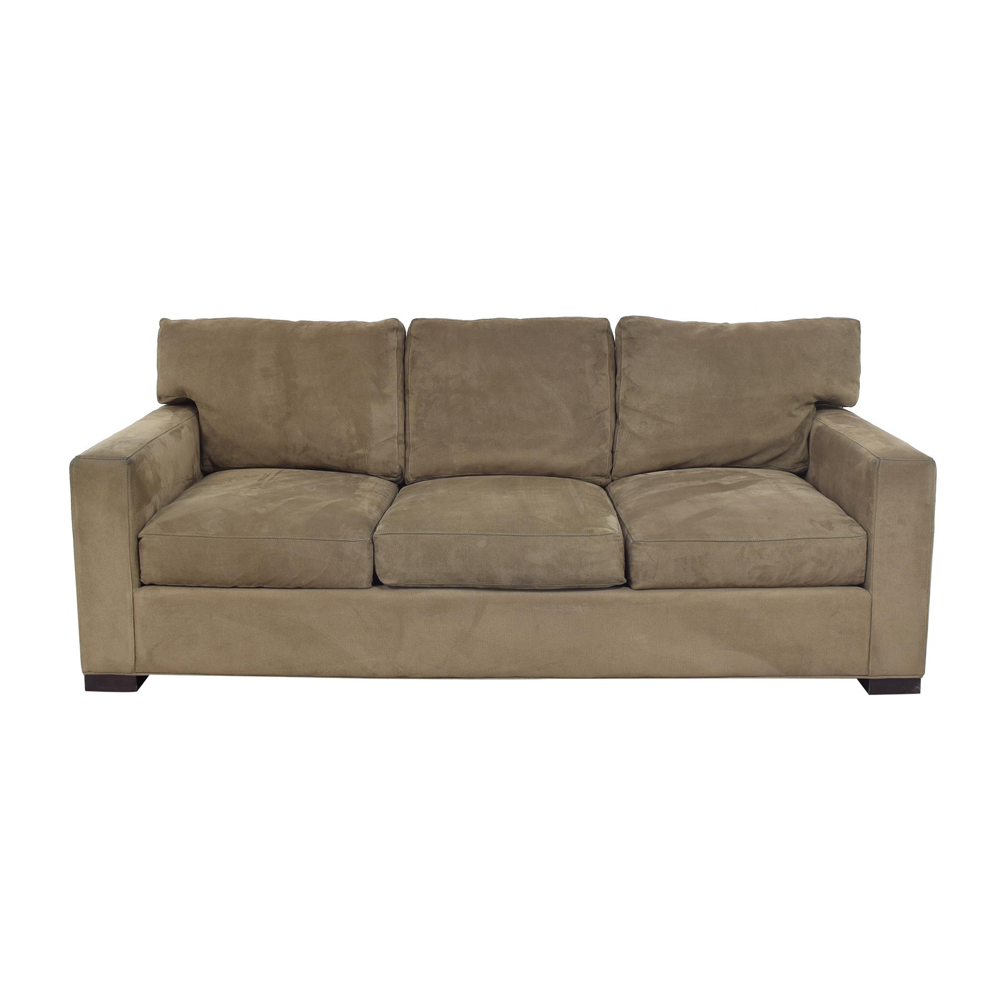 Crate & Barrel Crate & Barrel Axis Three Seat Sofa Classic Sofas