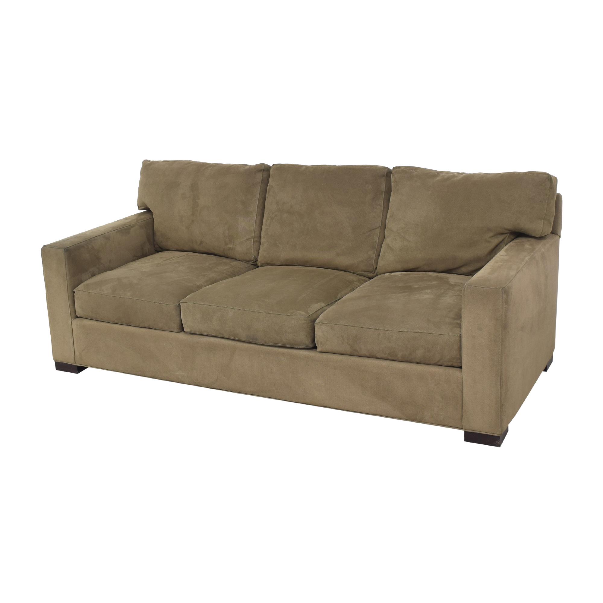 Crate & Barrel Crate & Barrel Axis Three Seat Sofa for sale