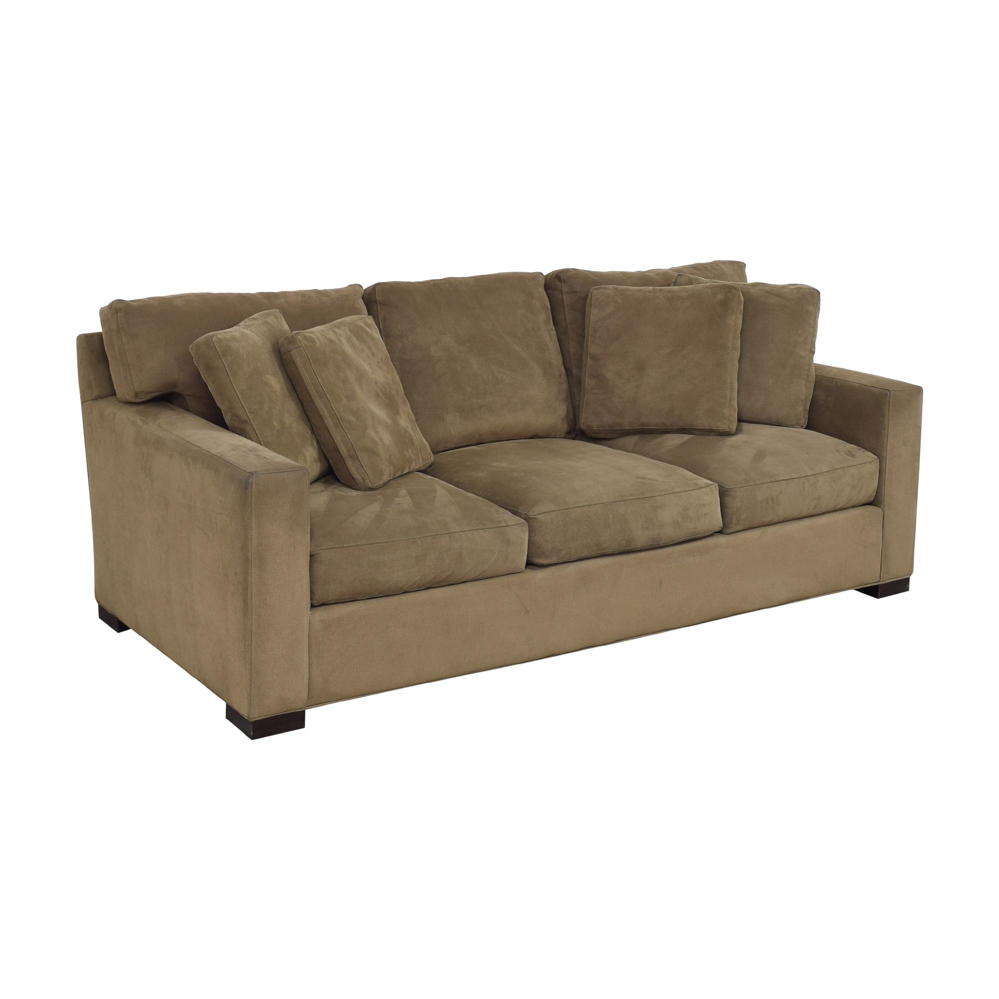 Crate & Barrel Crate & Barrel Axis Three Seat Sofa Sofas