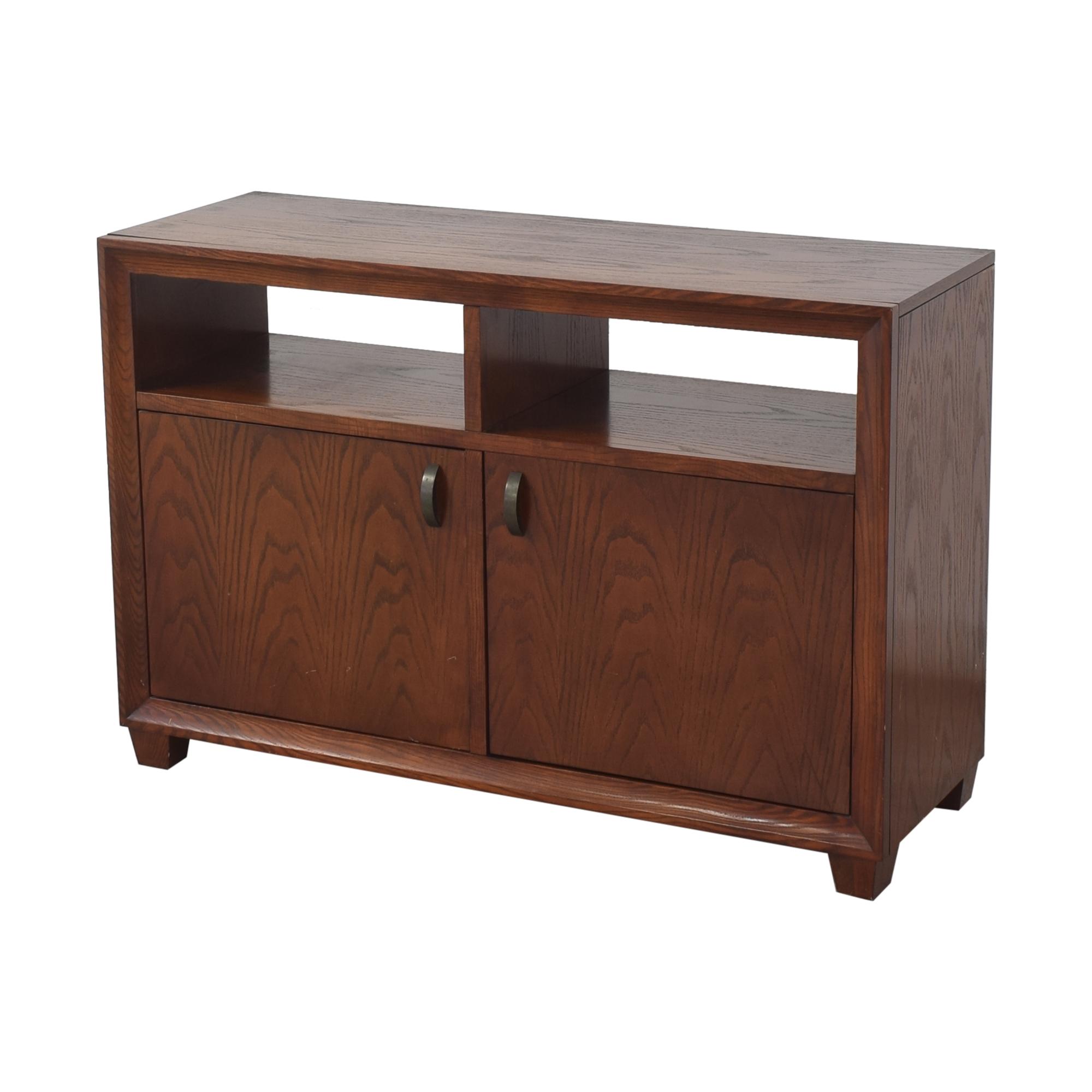 shop Crate & Barrel Two Door Sideboard Crate & Barrel Cabinets & Sideboards
