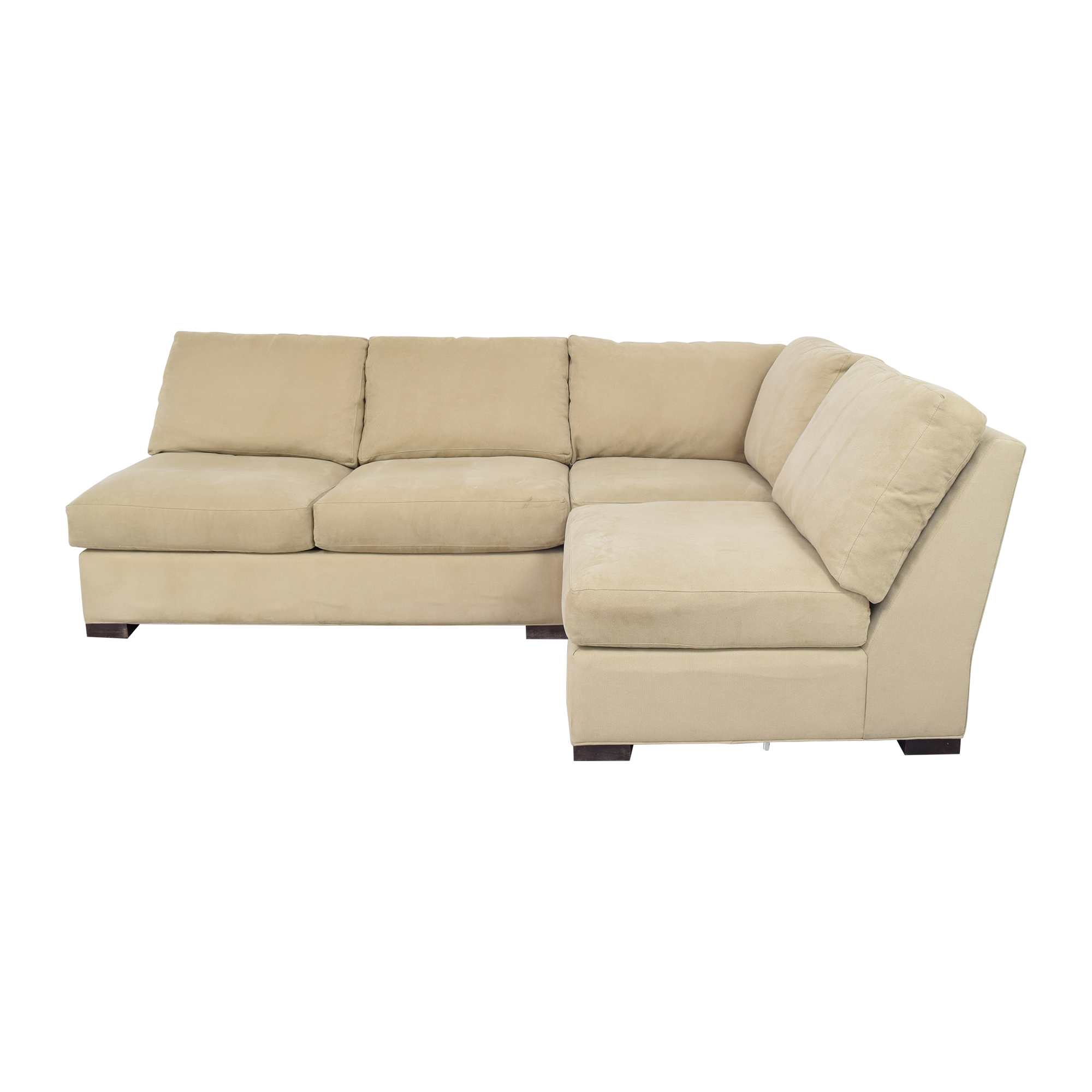 Crate & Barrel Crate & Barrel Sectional Sofa for sale