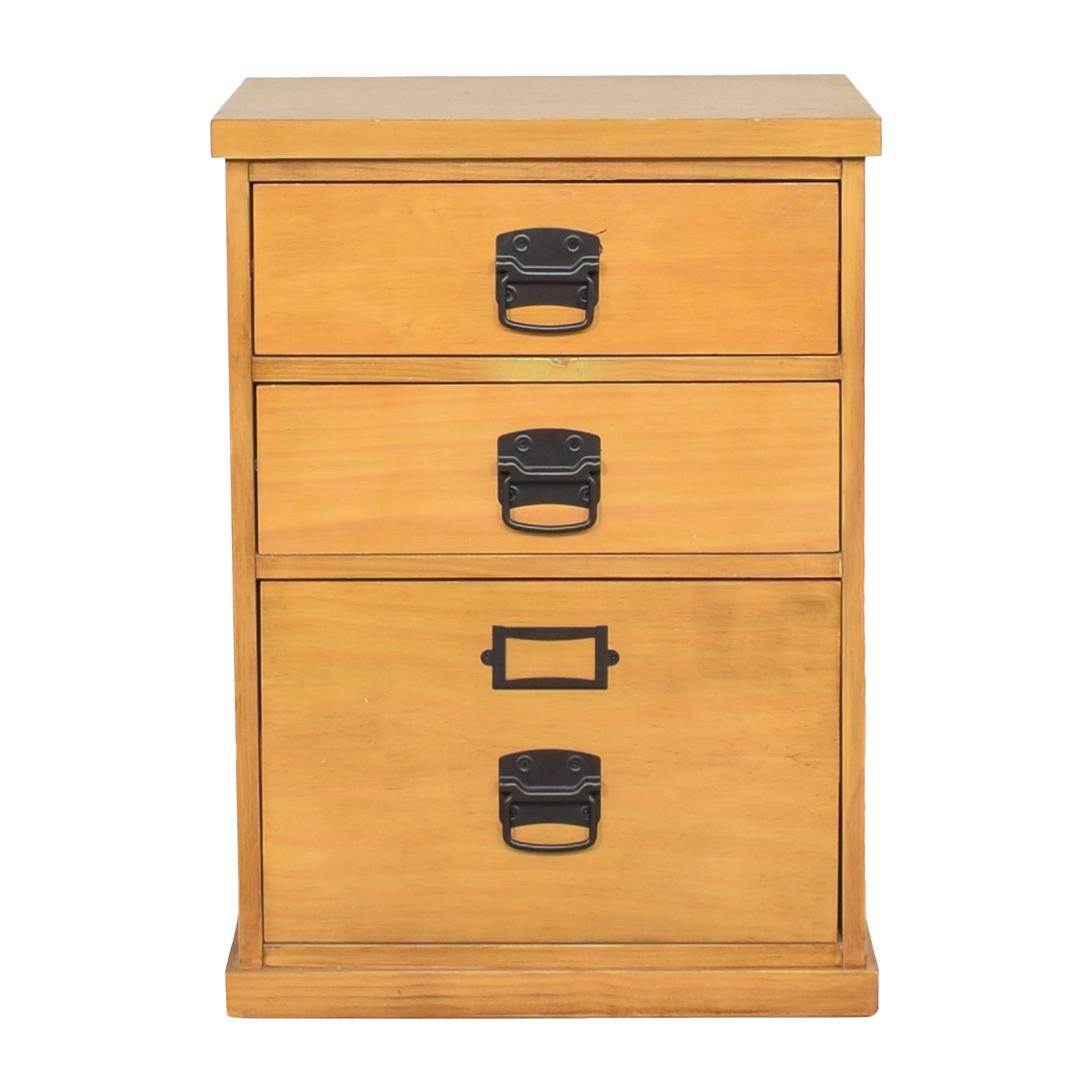 Pottery Barn Bedford Three Drawer File Cabinet sale