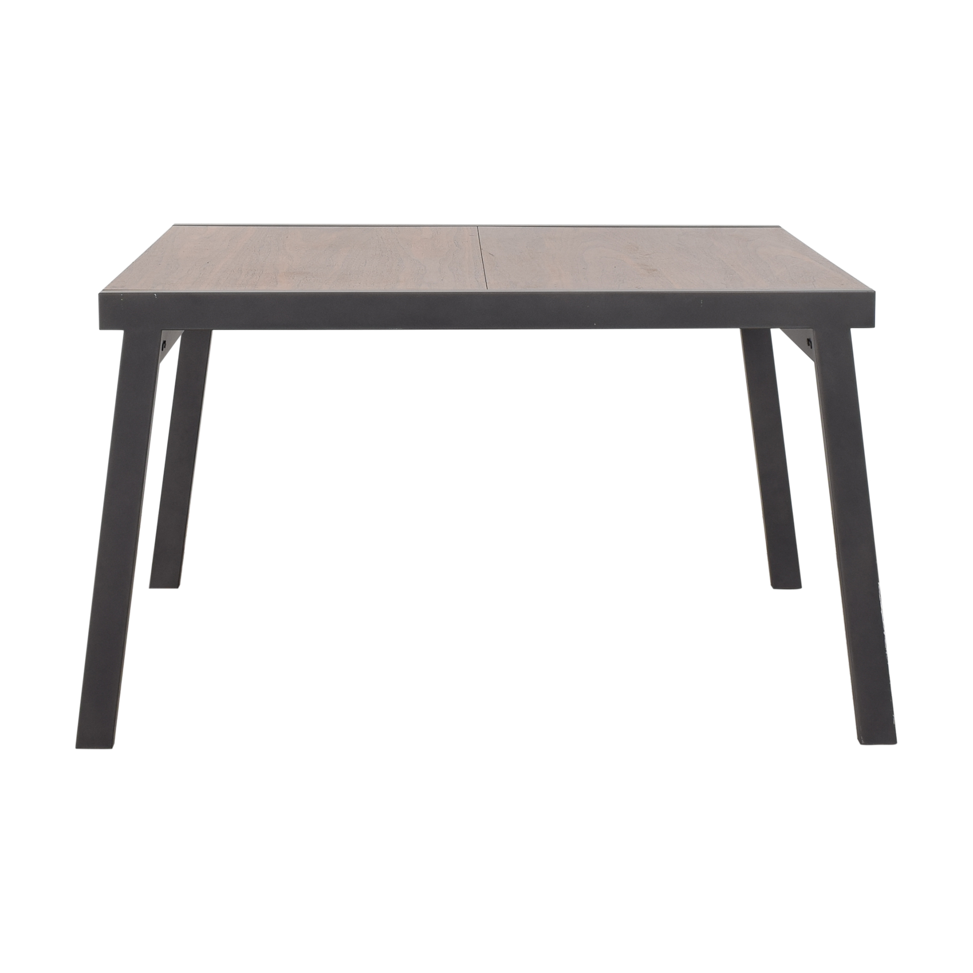 shop CB2 Extendable Dining Table CB2 Dinner Tables