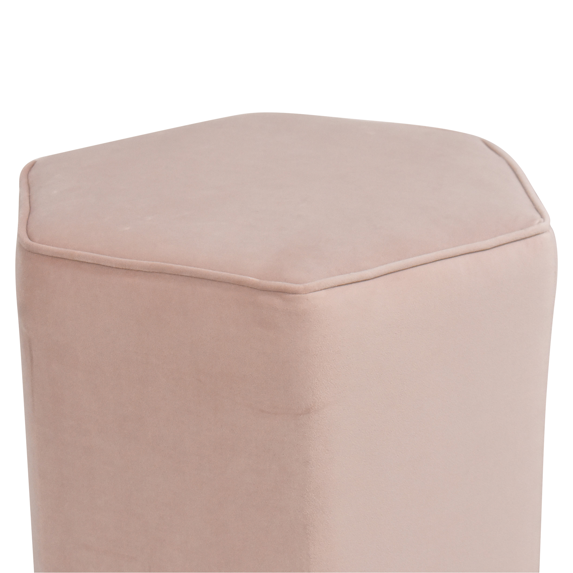 shop The Inside Hexagonal Ottoman The Inside Storage